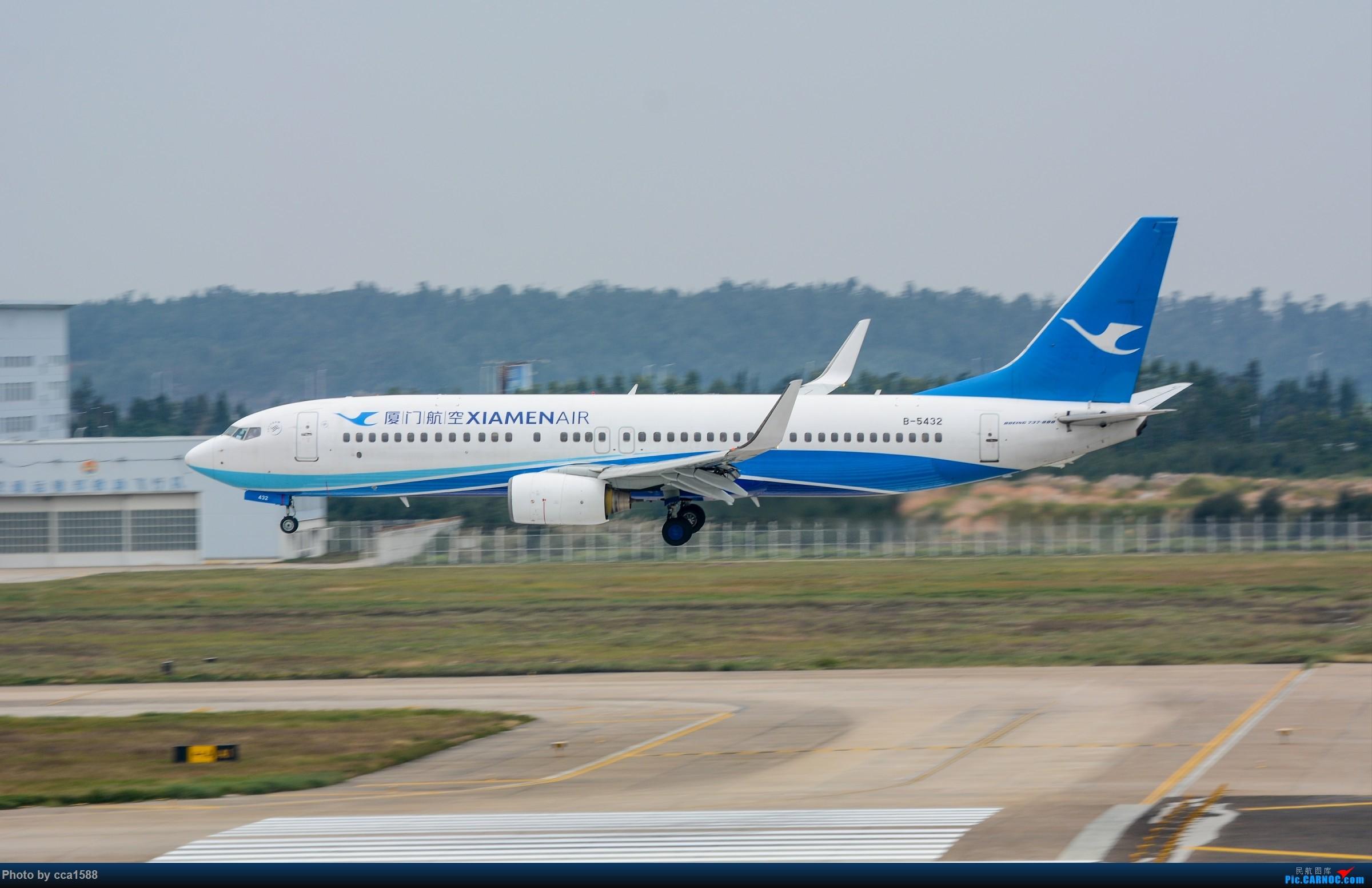 """Re:[原创]【福州飞友会】蹲点两天终于等到你~厦航首架787-9""""金砖梦想号"""" BOEING 737-800 B-5432 中国福州长乐国际机场"""