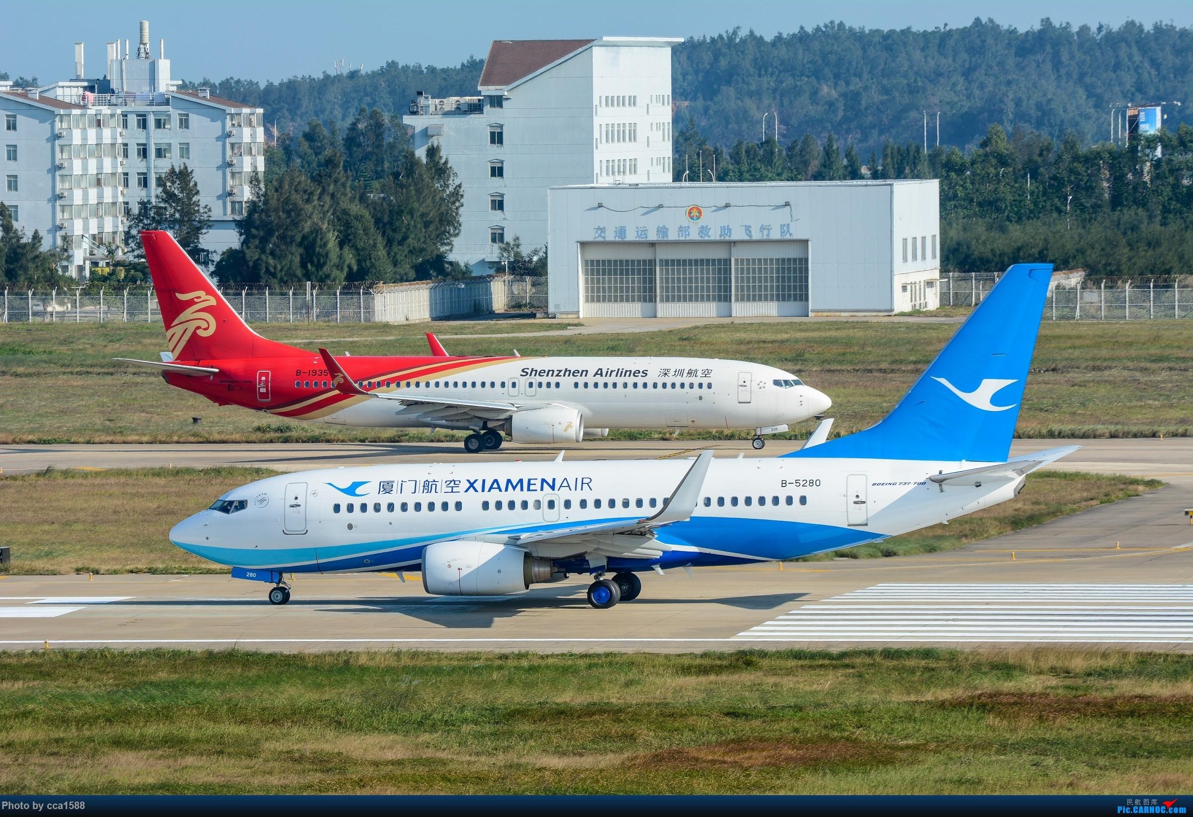 """Re:[原创]【福州飞友会】蹲点两天终于等到你~厦航首架787-9""""金砖梦想号"""" BOEING 737-700 B-5280 中国福州长乐国际机场"""