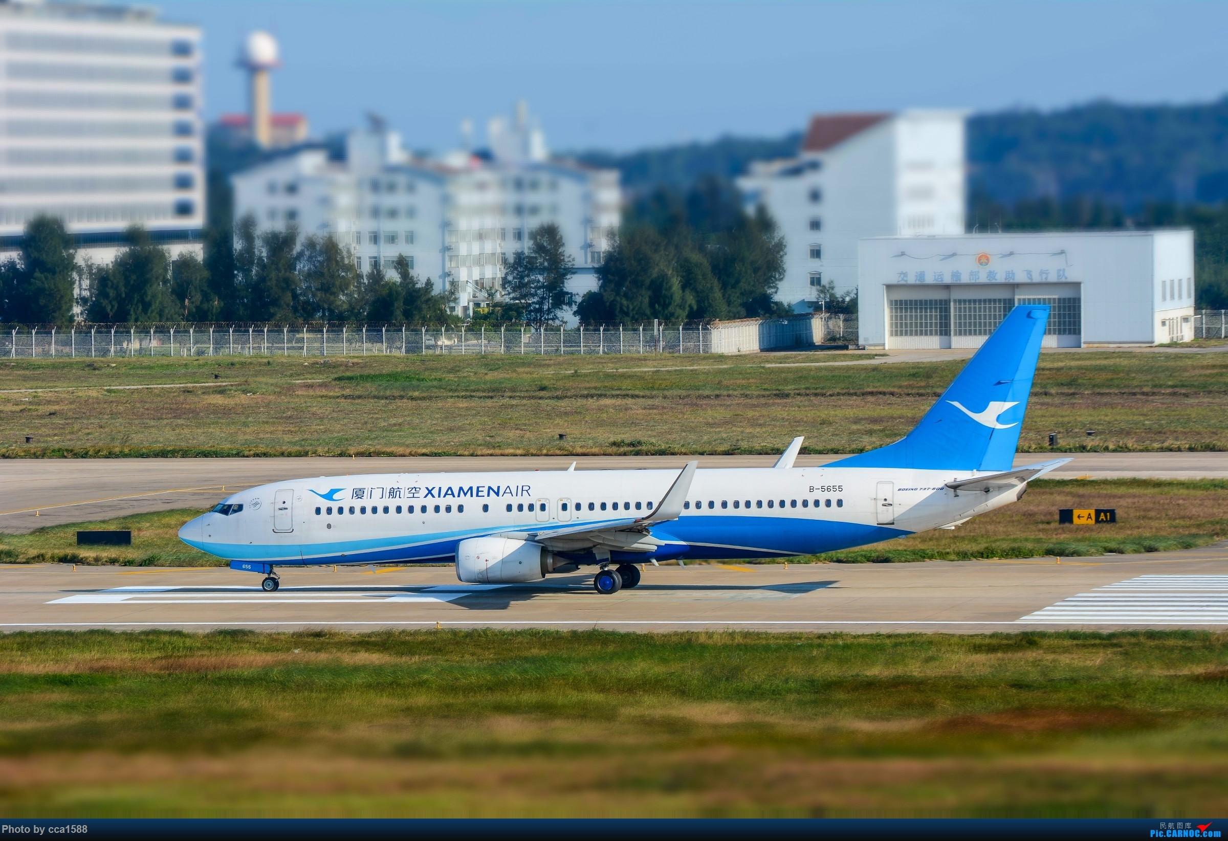 """Re:【福州飞友会】蹲点两天终于等到你~厦航首架787-9""""金砖梦想号"""" BOEING 737-800 B-5655 中国福州长乐国际机场"""