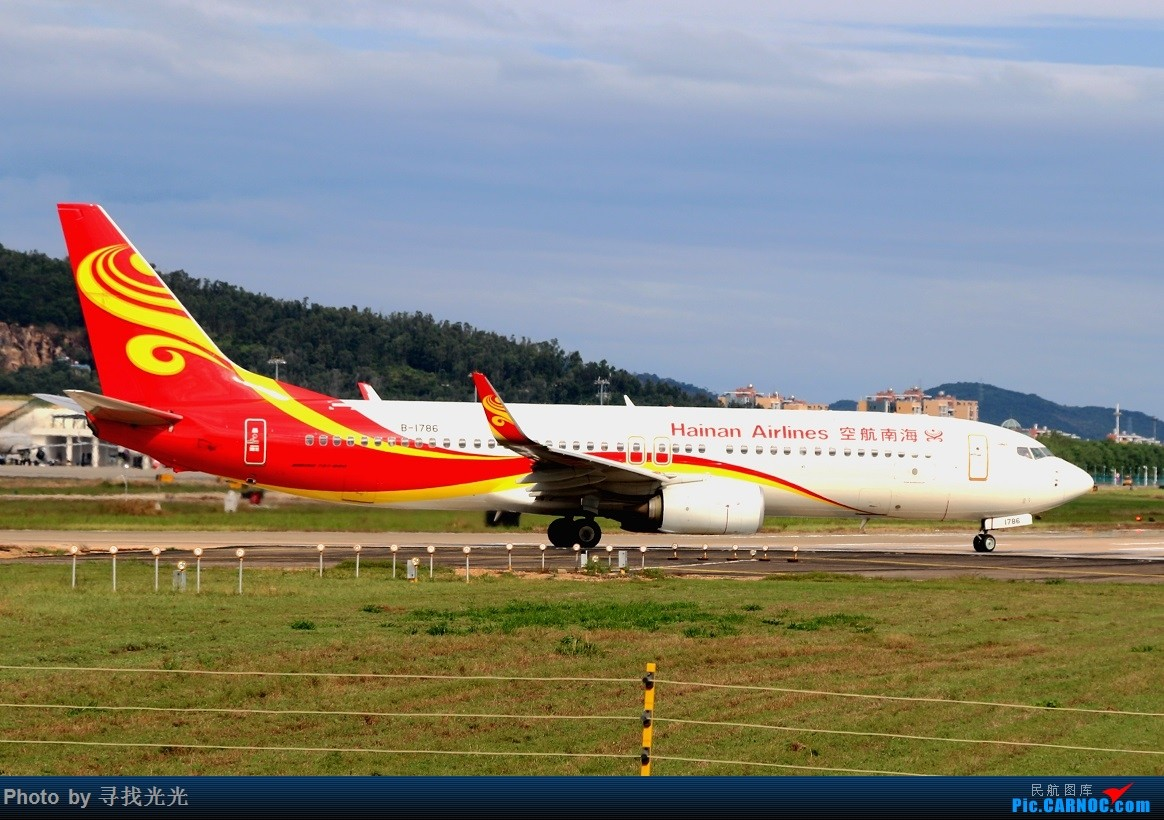 Re:[原创]晚秋初冬多伦多、温暖湿润美三亚,海南航空的冰火两重天之旅:CKG-PEK-YYZ-PEK-SYX-CKG(下集) BOEING 737-800 B-1786 中国三亚凤凰国际机场