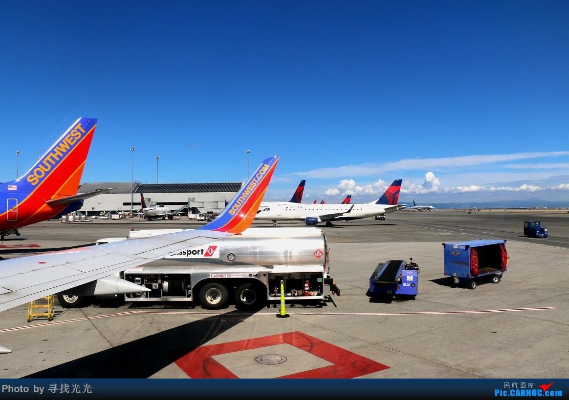 Re:[原创]【有光的地方就有我】金秋北美四城--旧金山、洛杉矶、温哥华、西雅图:CKG-SFO-LAX-YVR/SEA-SFO-CKG--CA985、CA986全程往返 BOEING 737-700 N273WN 美国旧金山机场