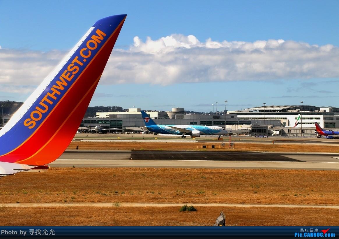 Re:【有光的地方就有我】金秋北美四城--旧金山、洛杉矶、温哥华、西雅图:CKG-SFO-LAX-YVR/SEA-SFO-CKG--CA985、CA986全程往返 BOEING 787-8 B-2725 美国旧金山机场