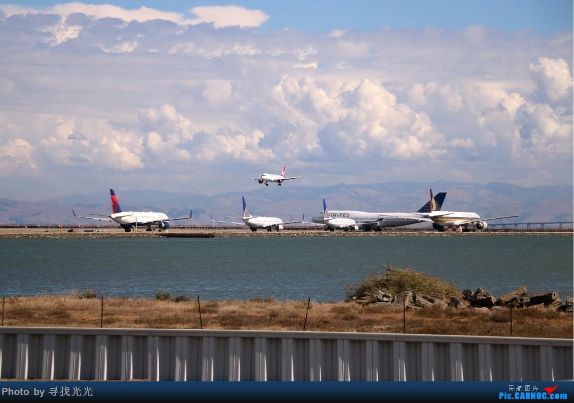 Re:[原创]【有光的地方就有我】金秋北美四城--旧金山、洛杉矶、温哥华、西雅图:CKG-SFO-LAX-YVR/SEA-SFO-CKG--CA985、CA986全程往返 BOEING 777-300ER B-KQI 美国旧金山机场 美国旧金山机场