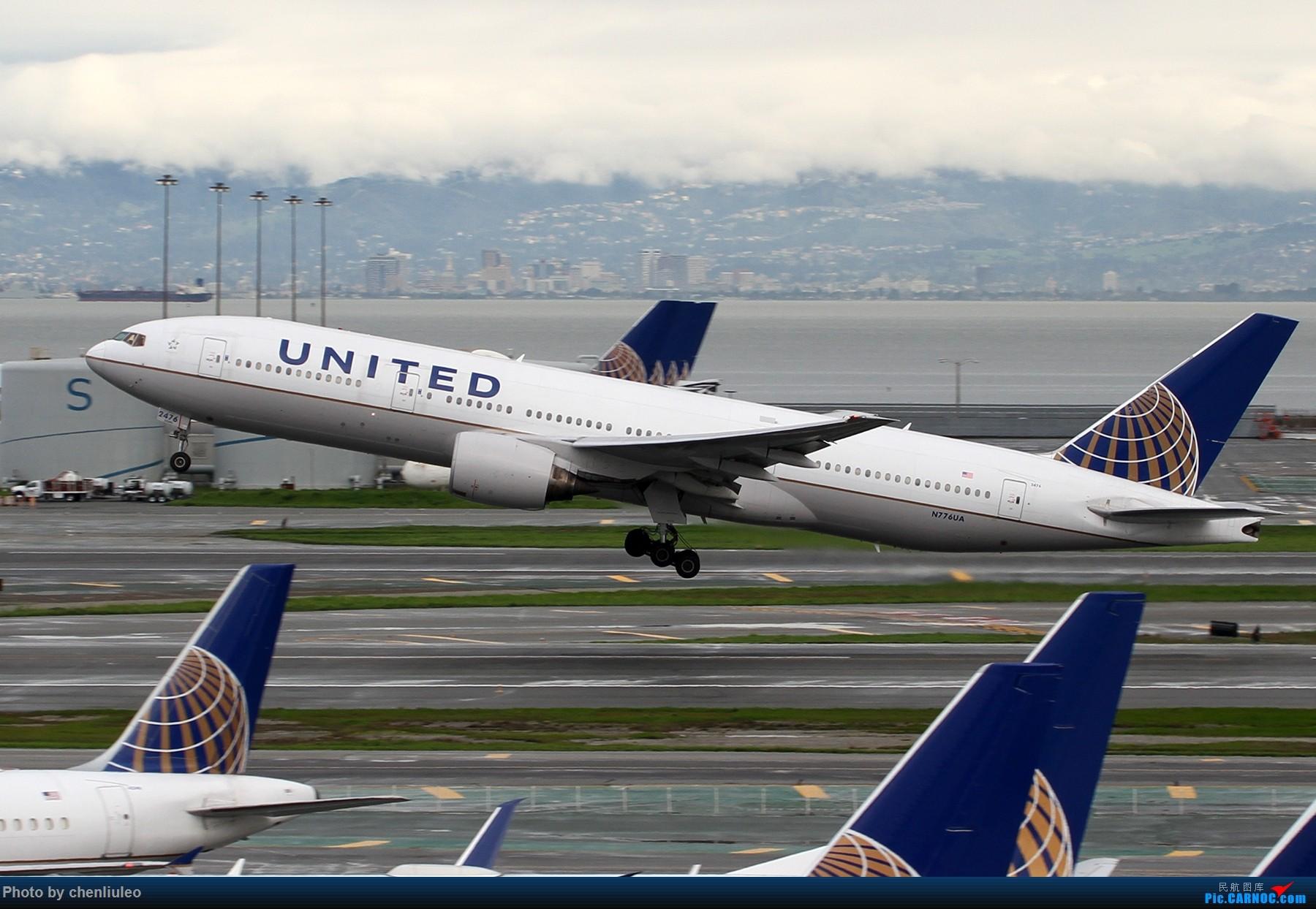 Re:[原创]【杭州飞友会】美国联合航空旧金山直飞杭州初体验 一切都很UA BOEING 777-222 N776UA 美国旧金山机场