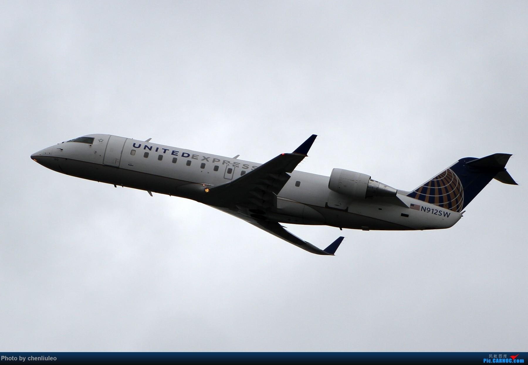 Re:[原创]【杭州飞友会】美国联合航空旧金山直飞杭州初体验 一切都很UA BOMBARDIER CRJ200ER N912SW 美国旧金山机场