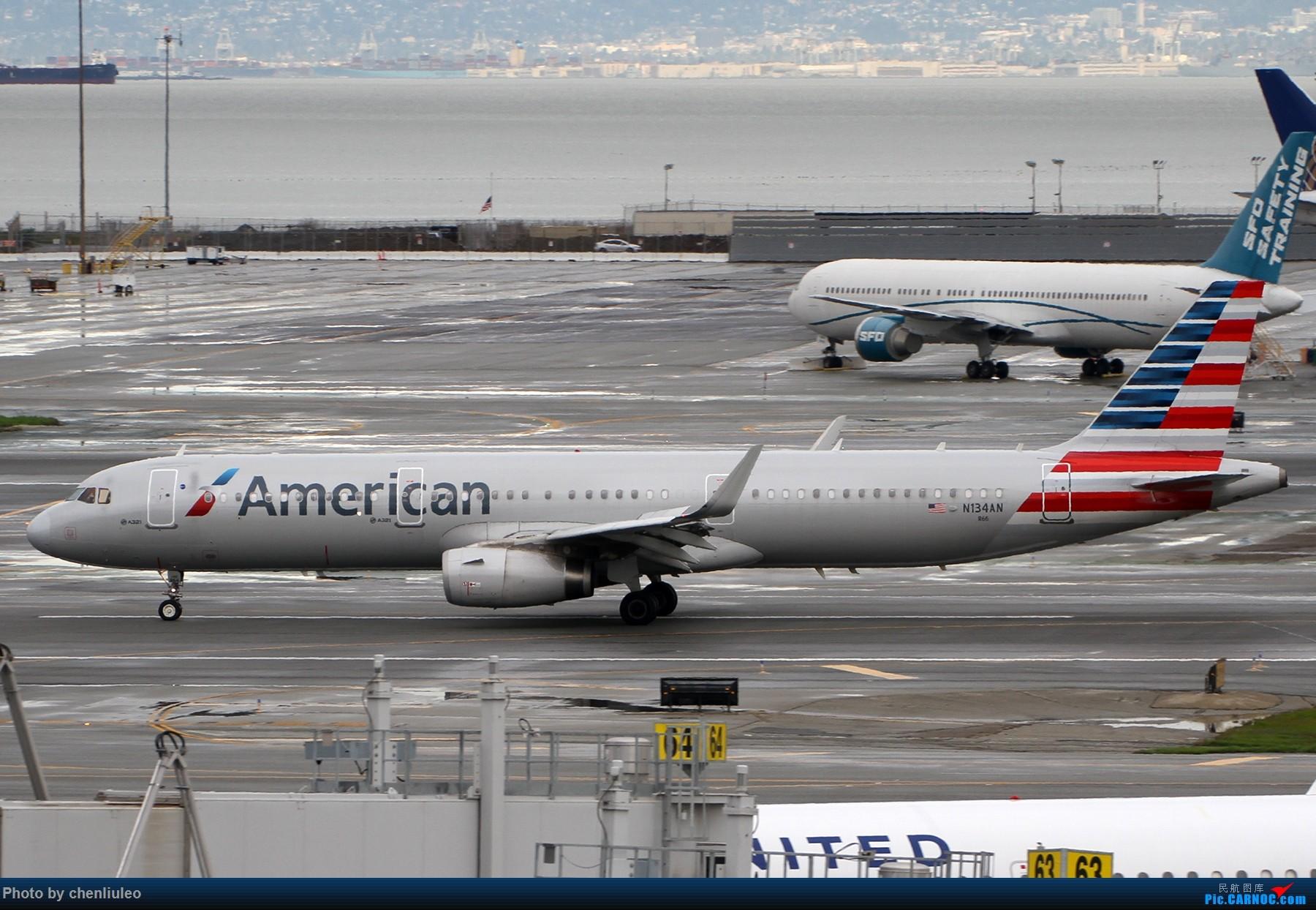 Re:[原创]【杭州飞友会】美国联合航空旧金山直飞杭州初体验 一切都很UA AIRBUS A321-231 N134AN 美国旧金山机场