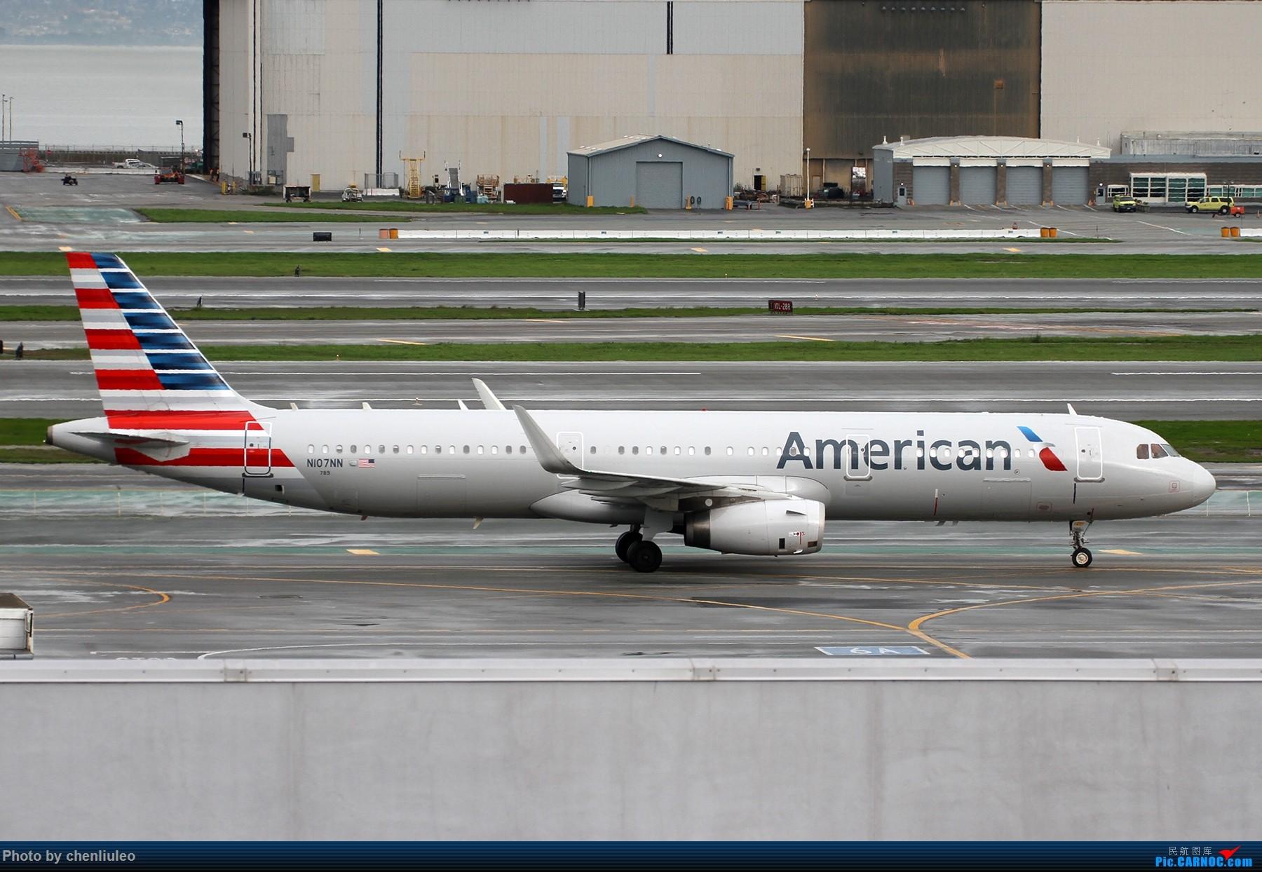 Re:[原创]【杭州飞友会】美国联合航空旧金山直飞杭州初体验 一切都很UA AIRBUS A321-231 N107NN 美国旧金山机场