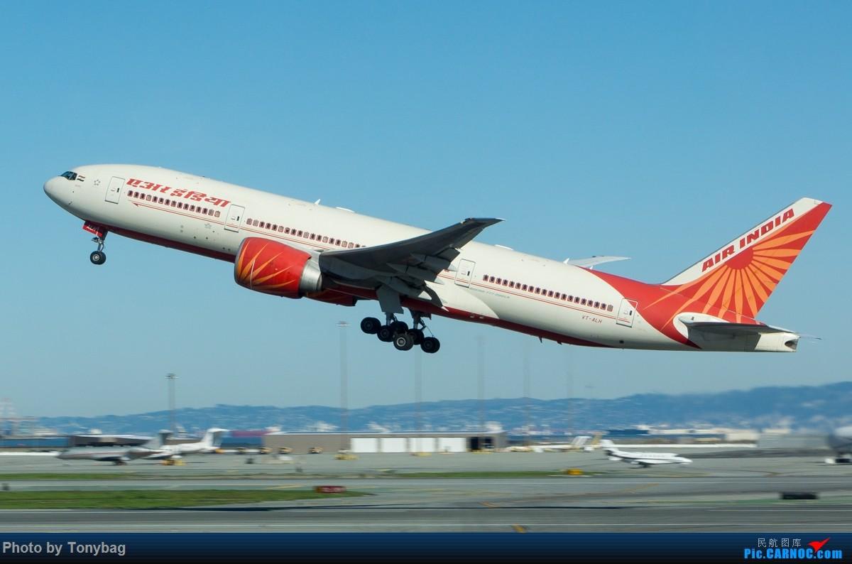 Re:【SFO】印度航空 Boeing 777-200LR VT-ALH BOEING 777-200 VT-ALH 美国旧金山机场