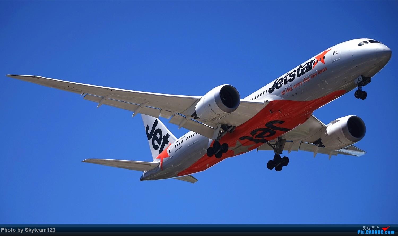 Re:[原创]悉尼25跑道头拍机,天好机也好。关键词新航744,宿雾333,酷航789 BOEING 787-8  澳大利亚悉尼金斯福德·史密斯机场