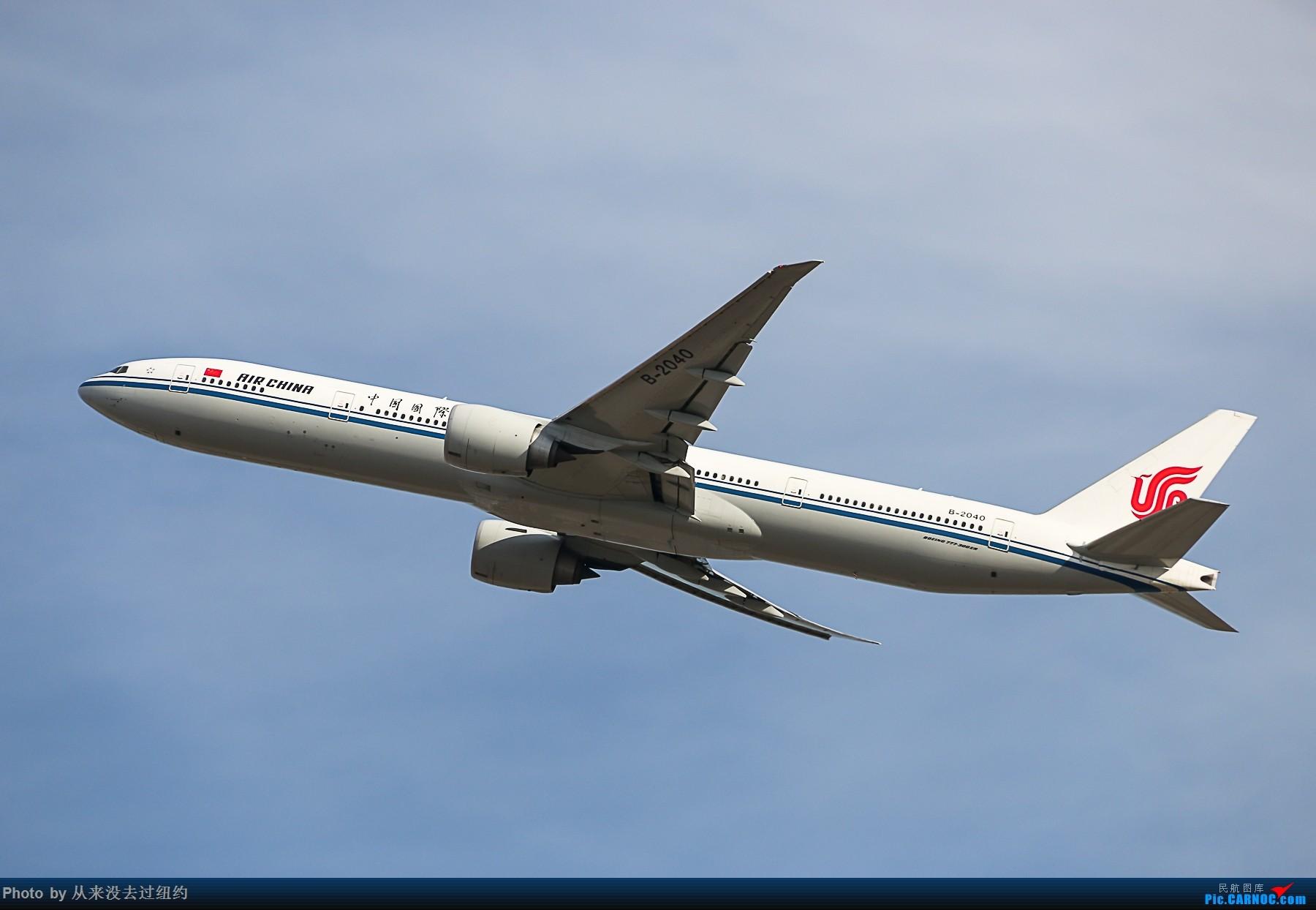 [原创]国航77W起飞 BOEING 777-300ER B-2040 中国北京首都国际机场