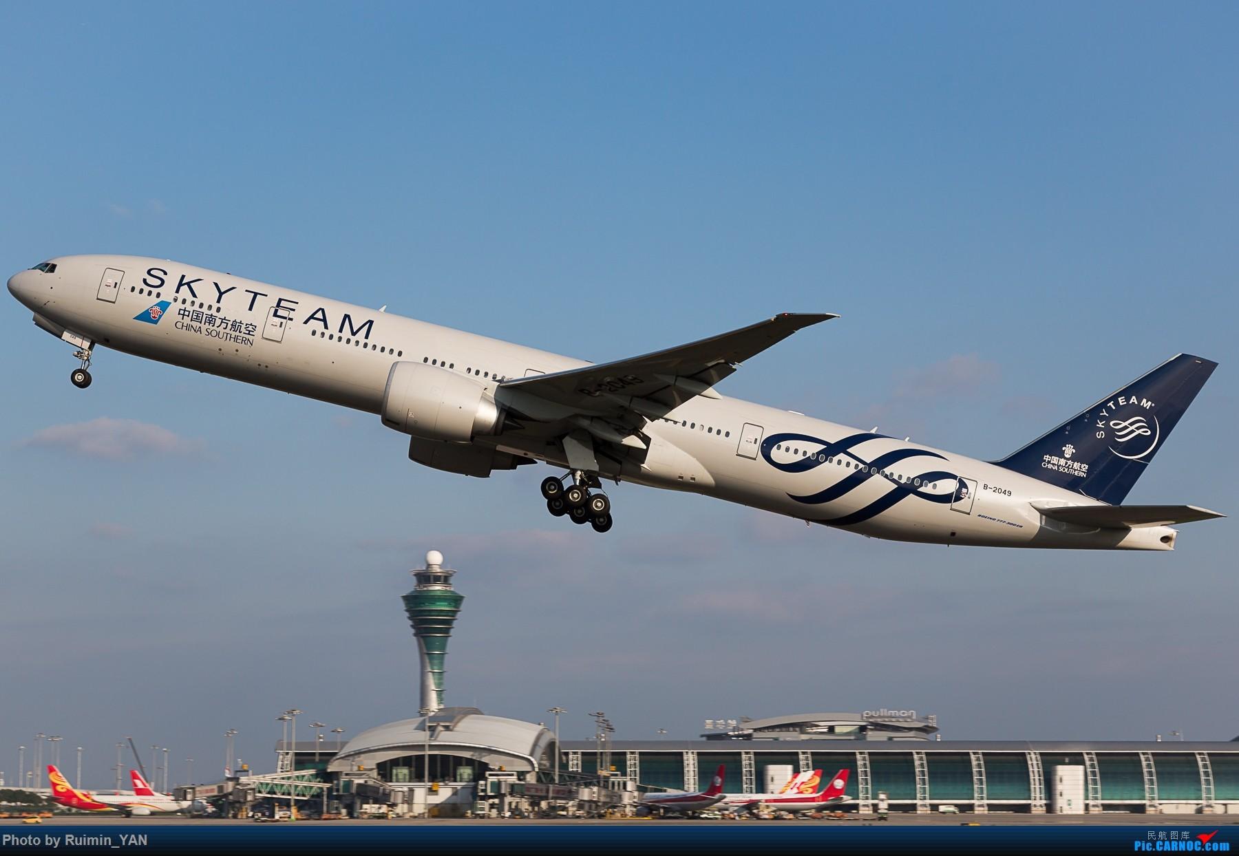 Re:[原创]【CAN】南航天合77W B-2049 BOEING 777-300ER B-2049 中国广州白云国际机场