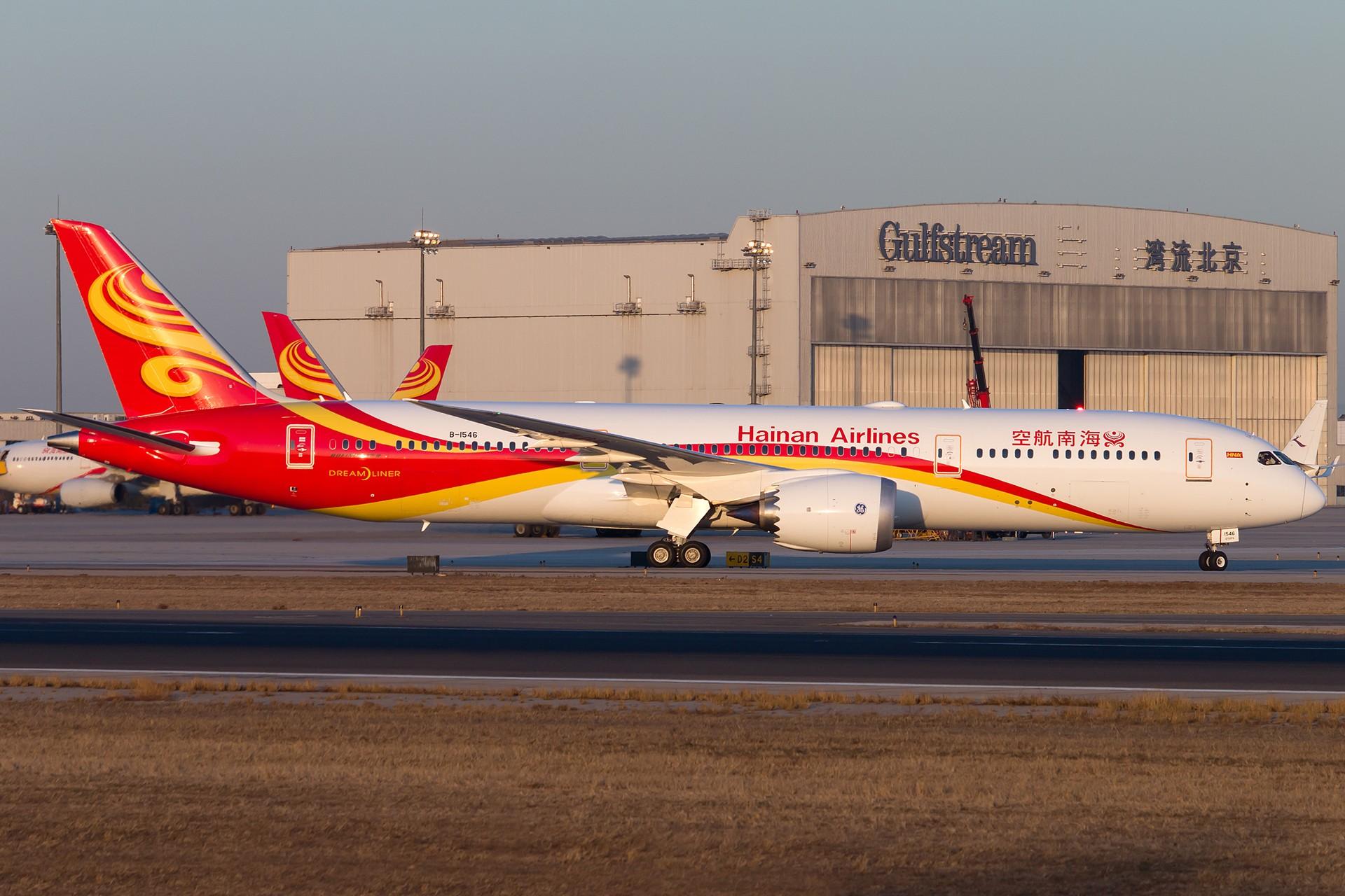 [原创][一图党]B-1546 1920*1280 BOEING 787-9 B-1546 中国北京首都国际机场