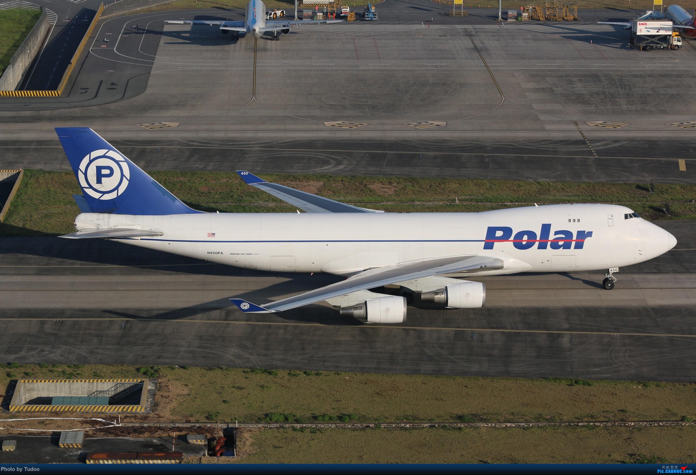 极地航空货运 744F BOEING 747-400 F N450PA 深圳