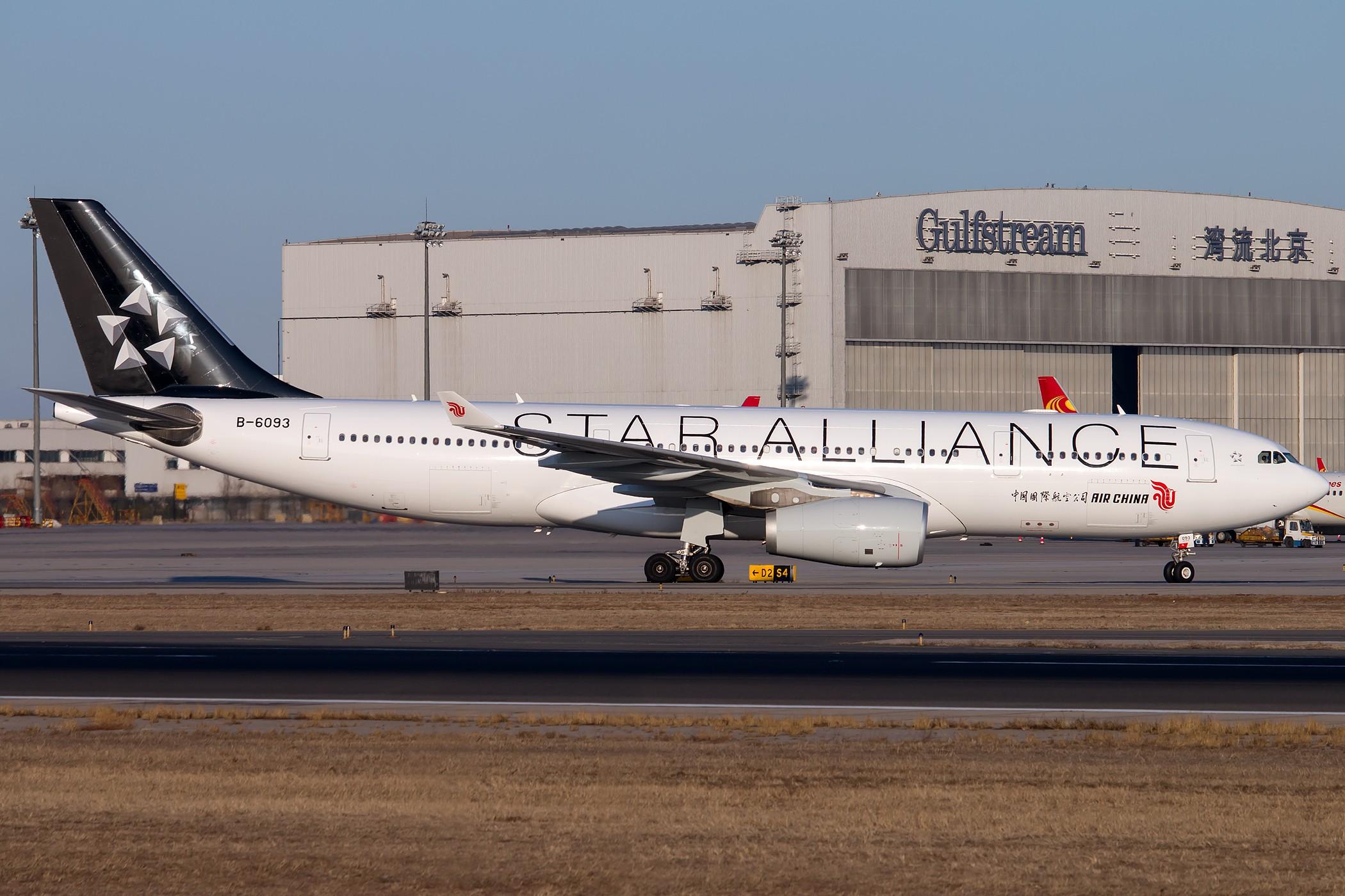 [原创][一图党] B-6093 2100*1400 AIRBUS A330-200 B-6093 中国北京首都国际机场