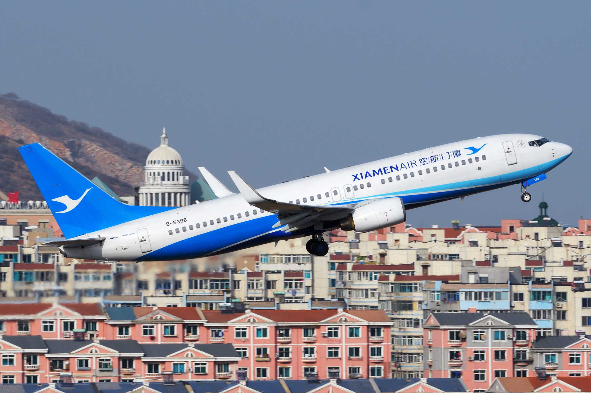 Re:[原创]★[DLC]2016年终总结(持续更新中)★ BOEING 737-800 B-5388 中国大连国际机场