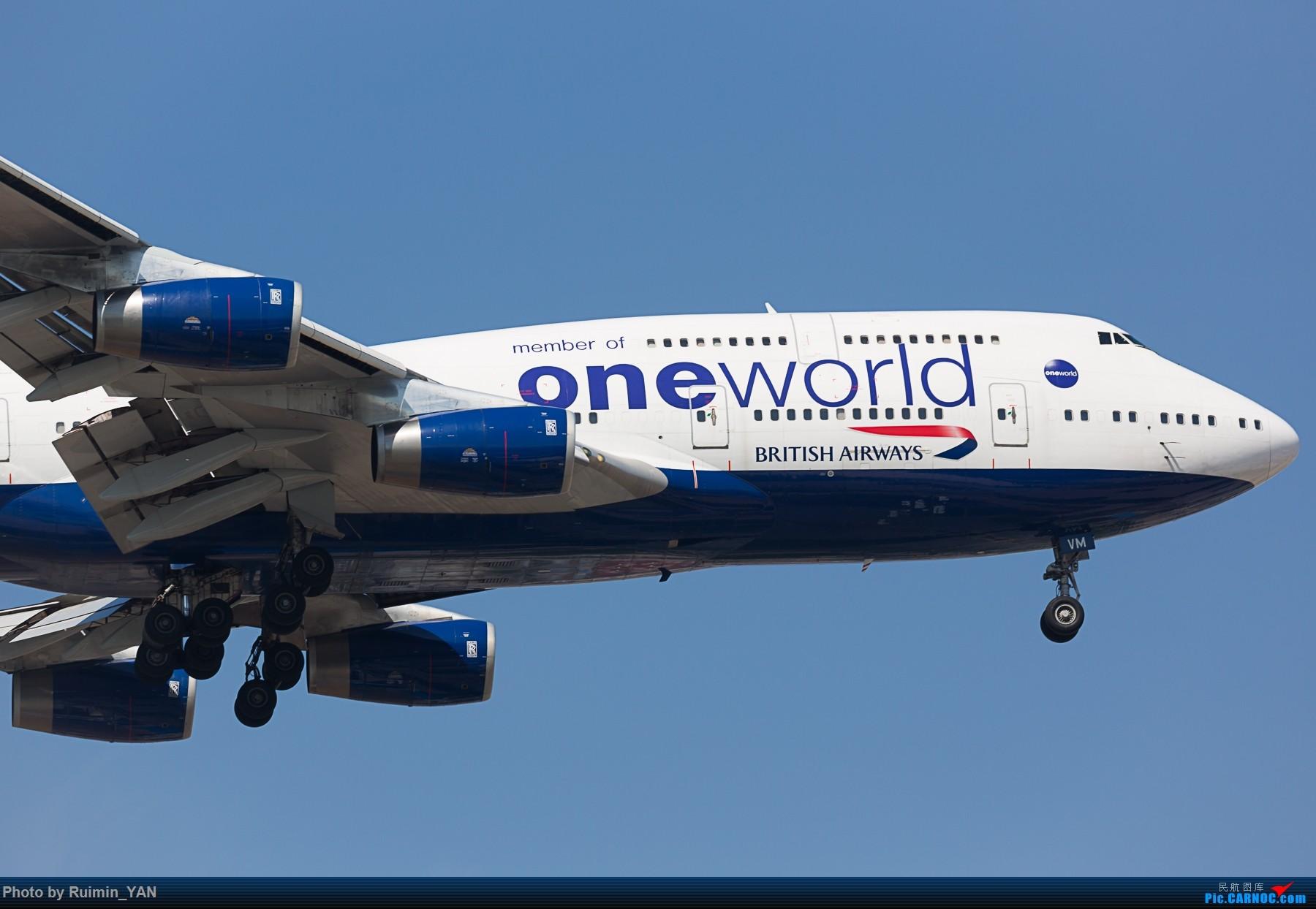 Re:[原创]【PEK】英国航空(BA,British Airways,SPEEDBIRD)744 G-CIVM BOEING 747-400 G-CIVM 中国北京首都国际机场