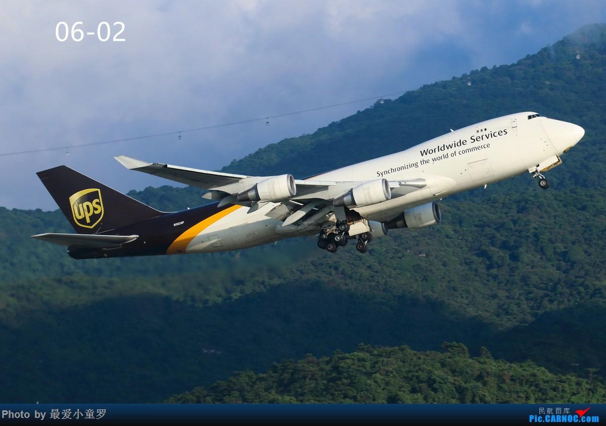 Re:[原创]交作业——2016年小童罗拍机总结 BOEING 747-400 N582UP 中国香港国际机场