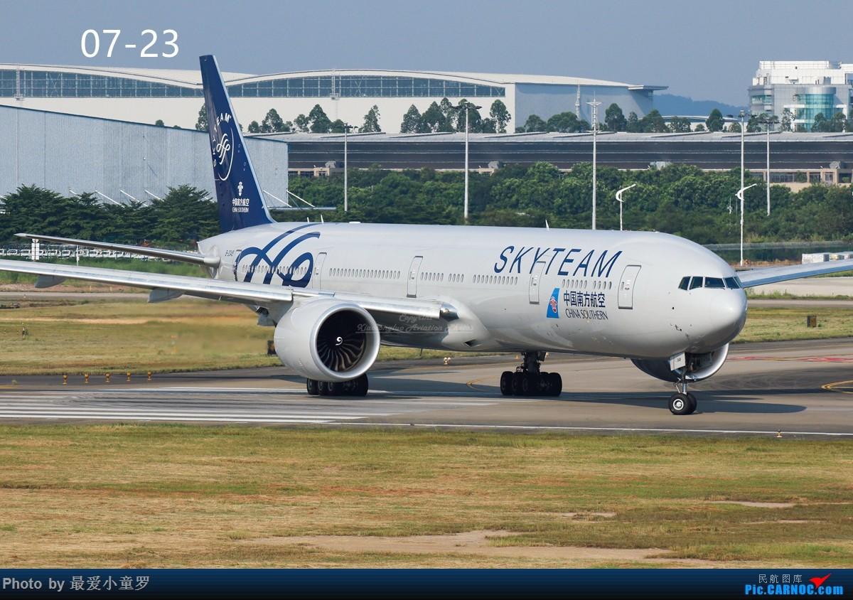 Re:[原创]交作业——2016年小童罗拍机总结 BOEING 777-300ER B-2049 中国广州白云国际机场
