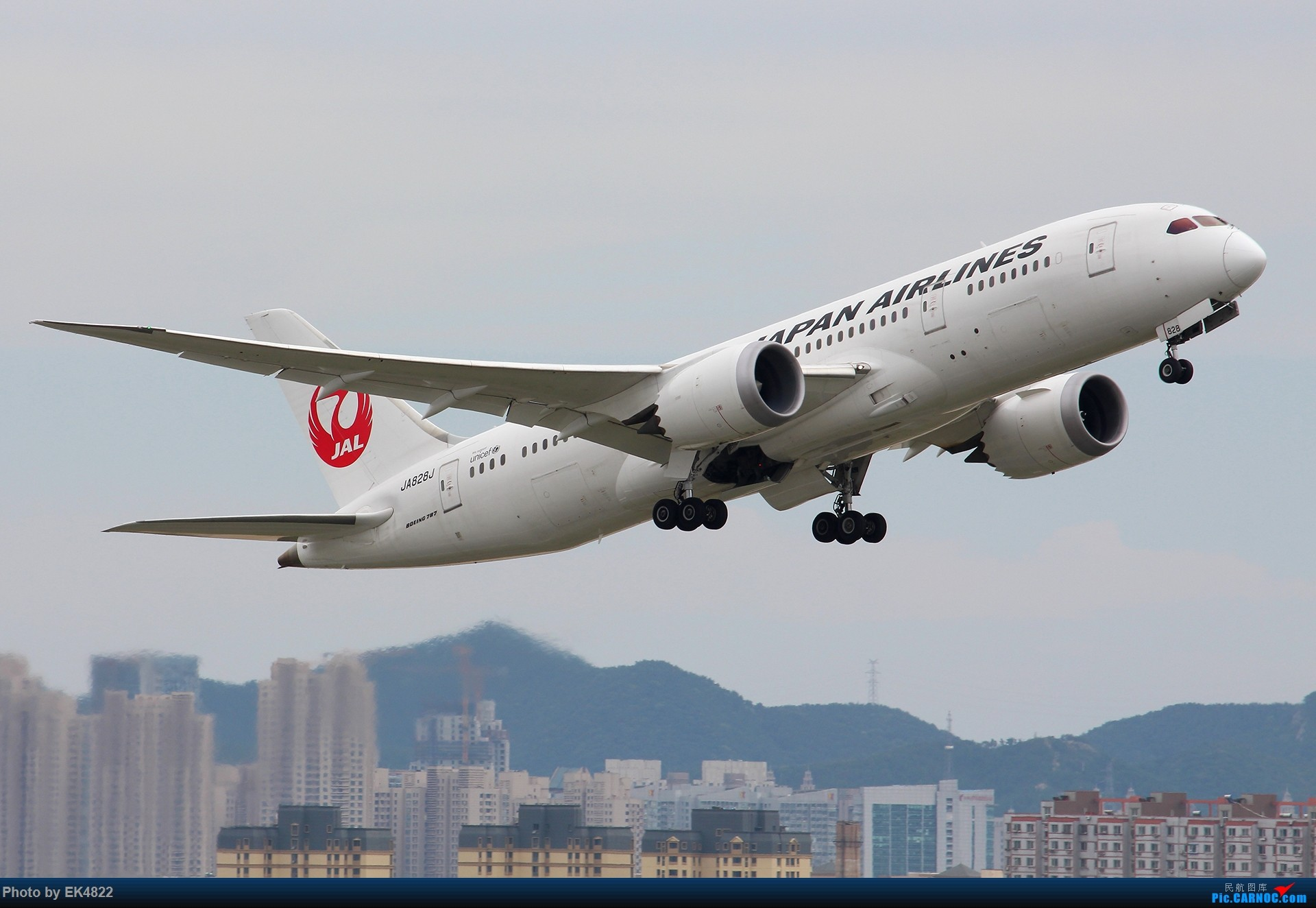 Re:[原创][ZYTL] 2016 从737到787 BOEING 787-8 JA828J 大连周水子国际机场