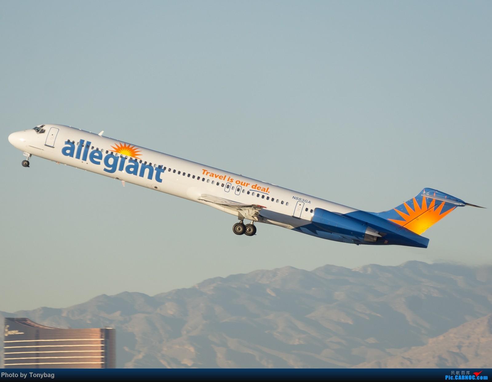 Re:[原创]【LAS】美廉航忠实航空老飞机 MD MD-80-83 N883GA 拉斯维加斯麦卡伦国际机场
