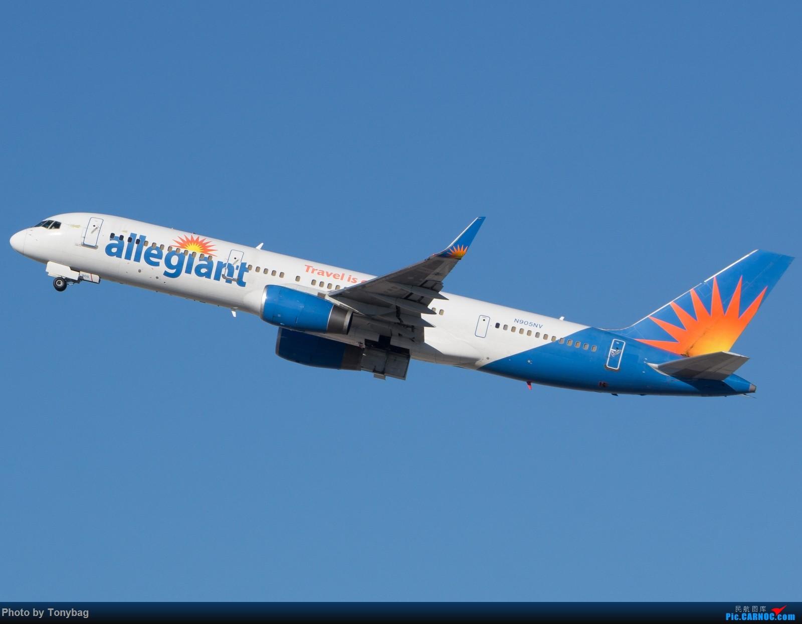 Re:[原创]【LAS】美廉航忠实航空老飞机 BOEING 757-200 N905NV 拉斯维加斯麦卡伦国际机场
