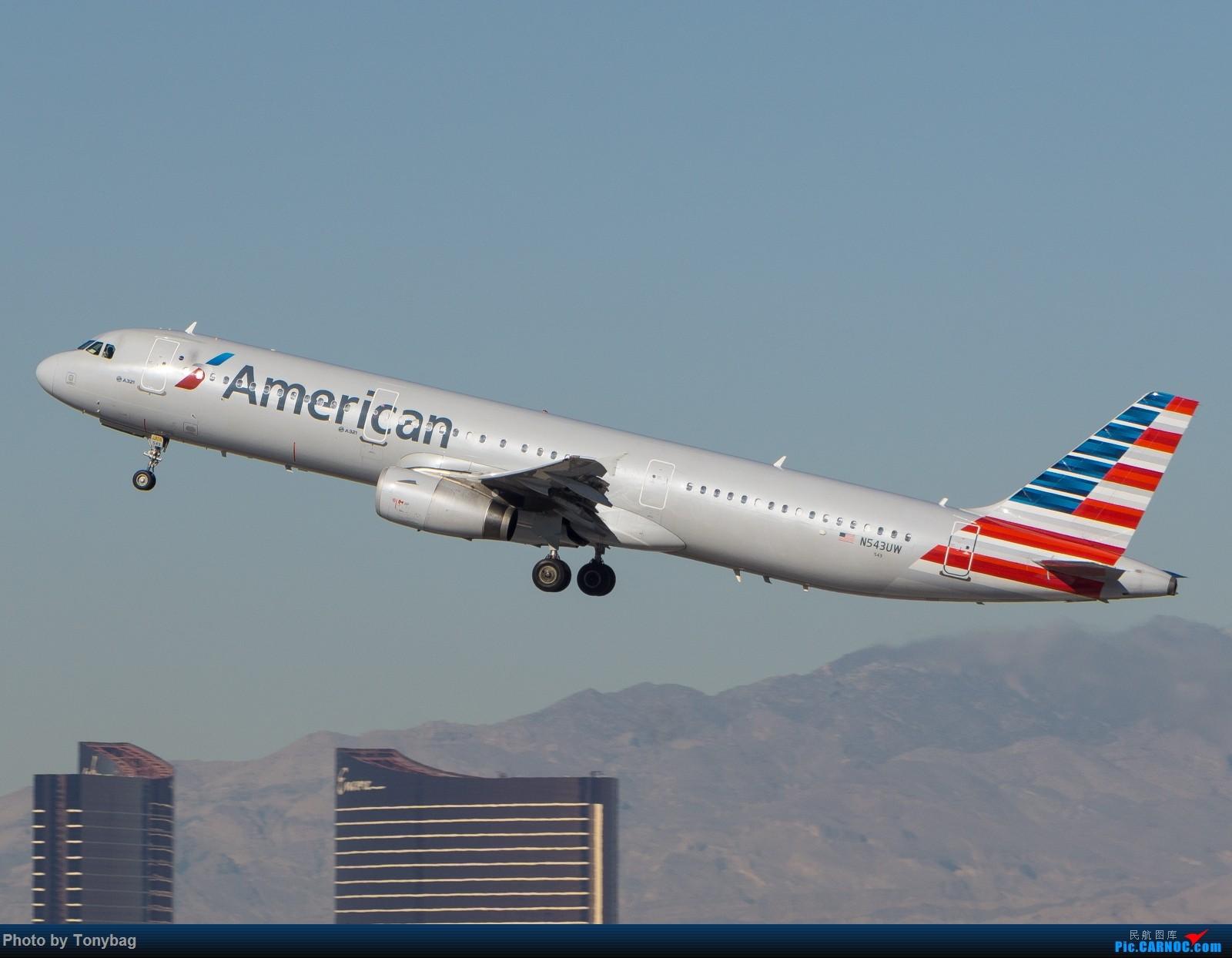 Re:[原创]【LAS】AA321飞越川普酒店 AIRBUS A321-200 N543UW 拉斯维加斯麦卡伦国际机场