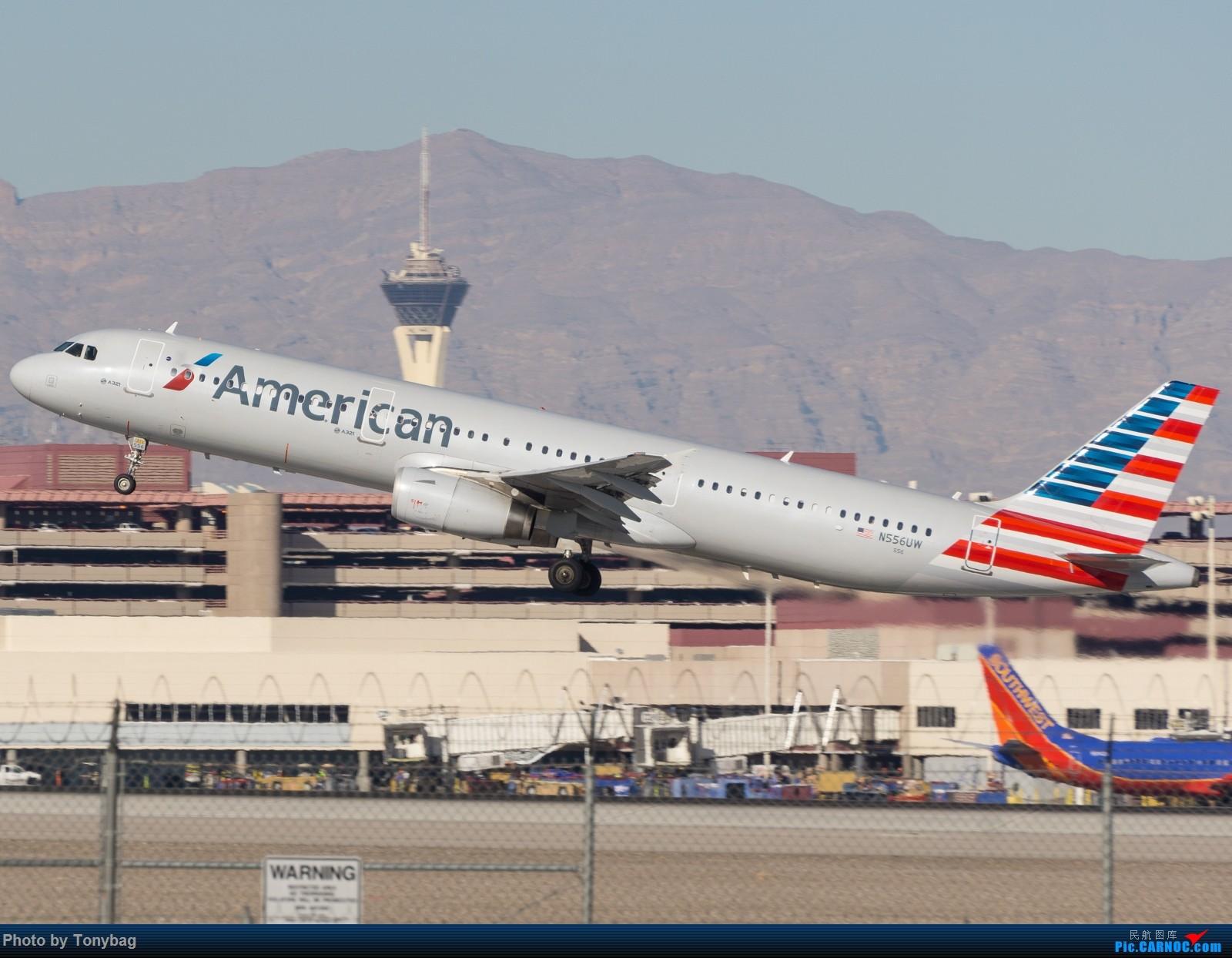 Re:[原创]【LAS】AA321飞越川普酒店 AIRBUS A321-200 N556UW 拉斯维加斯麦卡伦国际机场