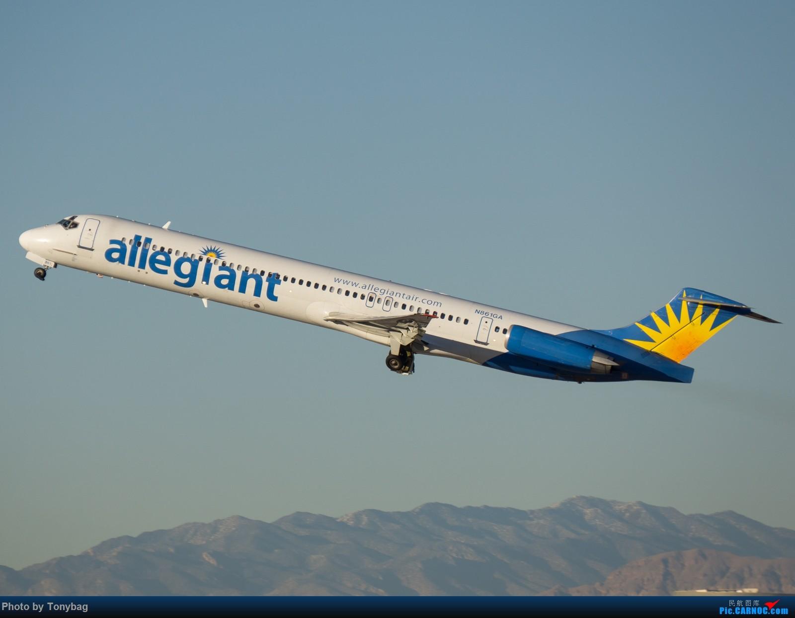 Re:[原创]【LAS】美廉航忠实航空老飞机 MD MD-80-83 N861GA 拉斯维加斯麦卡伦国际机场