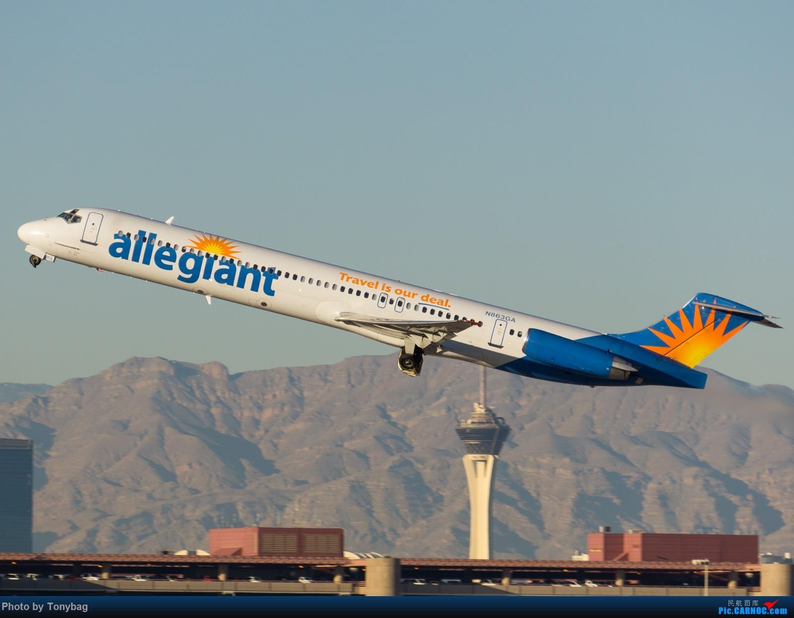 Re:[原创]【LAS】美廉航忠实航空老飞机 MD MD-80-83 N863GA 拉斯维加斯麦卡伦国际机场