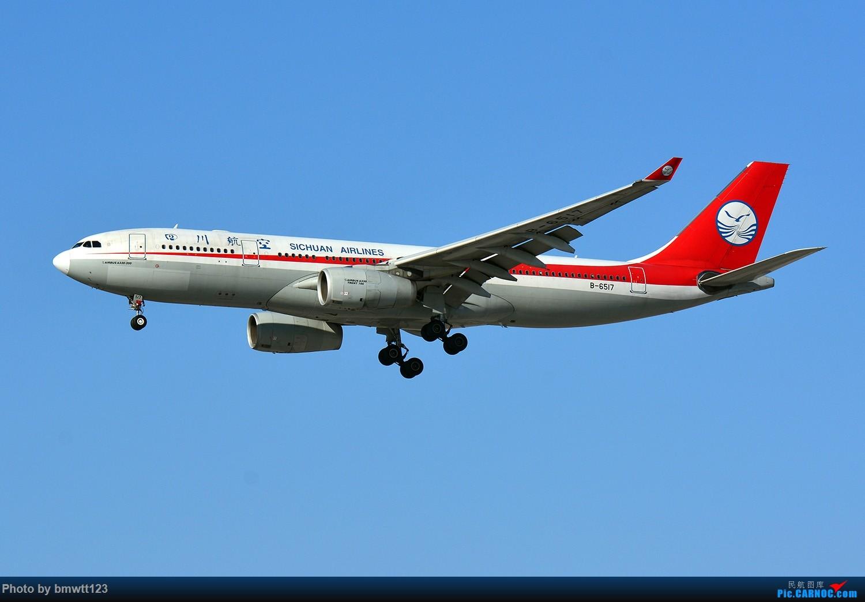 [原创]【SHE沈阳】川农机队在东北!332+321+320+319 AIRBUS A330-200 B-6517 中国沈阳桃仙国际机场