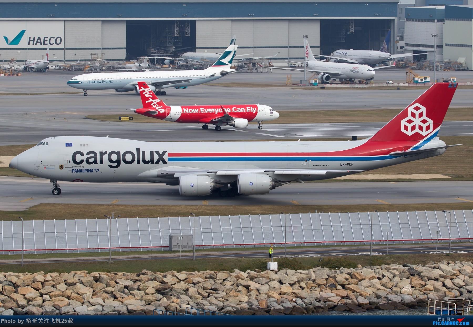 Re:[原创](南昌飞友会)吃辣椒拍机之旅 BOEING 747-8I LX-VCH 中国香港国际机场