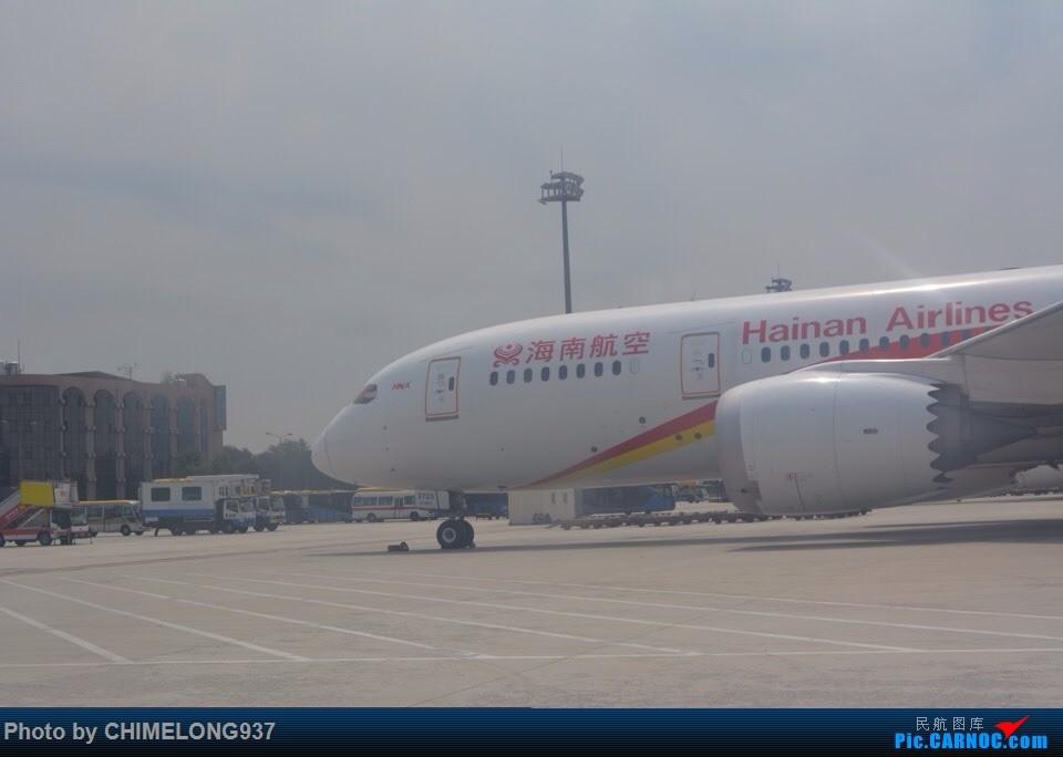 海航787 BOEING 787-8 B-2723 中国北京首都国际机场