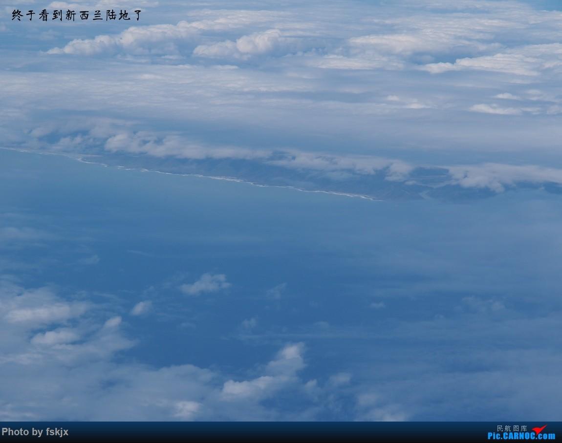 【fskjx的飞行游记☆40】再度启程·长沙·奥克兰·惠灵顿 BOEING 777-300ER B-7588