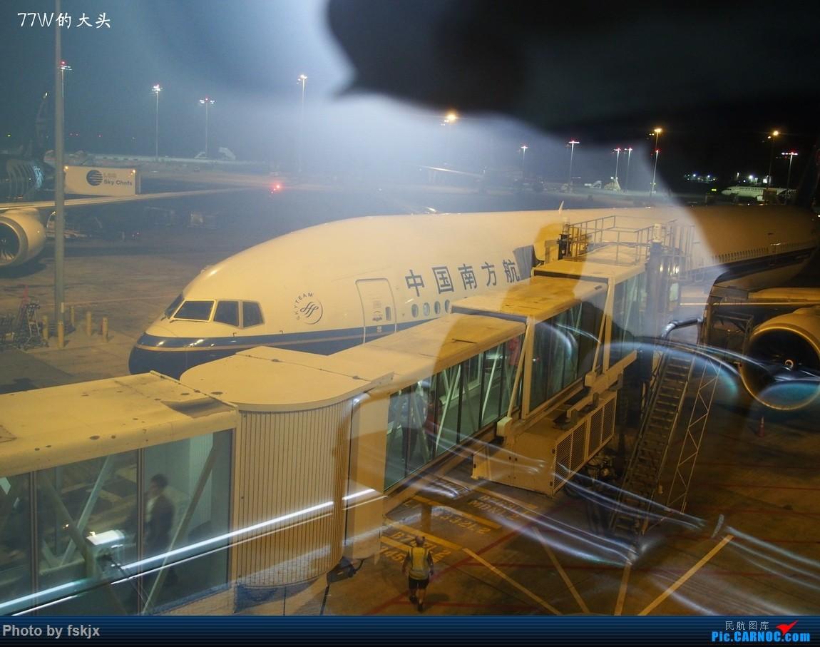 Re:【fskjx的飞行游记☆40】再度启程·长沙·奥克兰·惠灵顿 BOEING 777-300ER B-2008 新西兰奥克兰机场