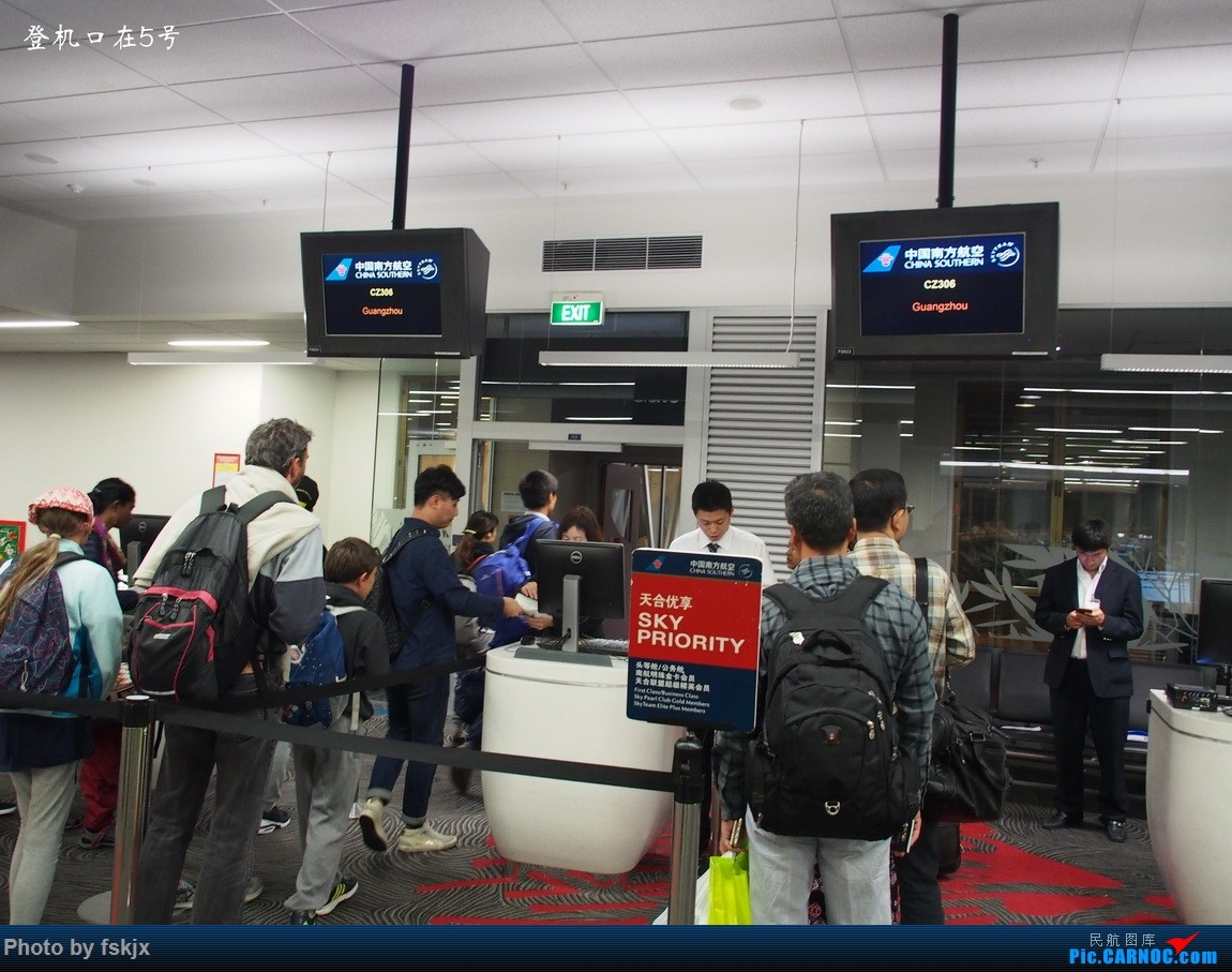 Re:【fskjx的飞行游记☆40】再度启程·长沙·奥克兰·惠灵顿 BOEING 777-300ER B-2008 新西兰奥克兰机场 新西兰奥克兰机场