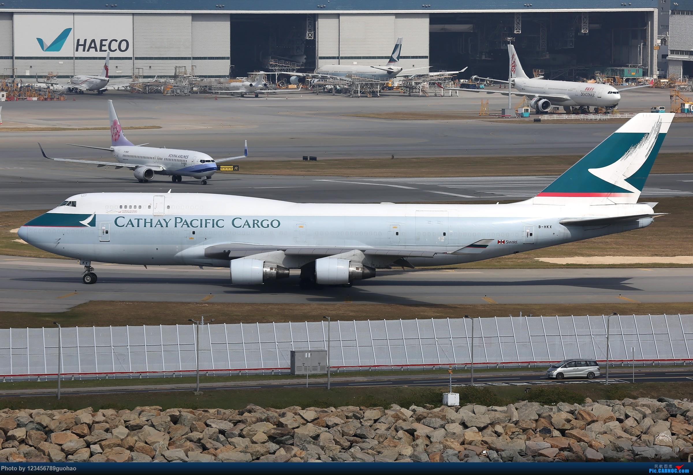 Re:[原创]香港货 BOEING 747-400 B-HKX 香港赤鱲角国际机场