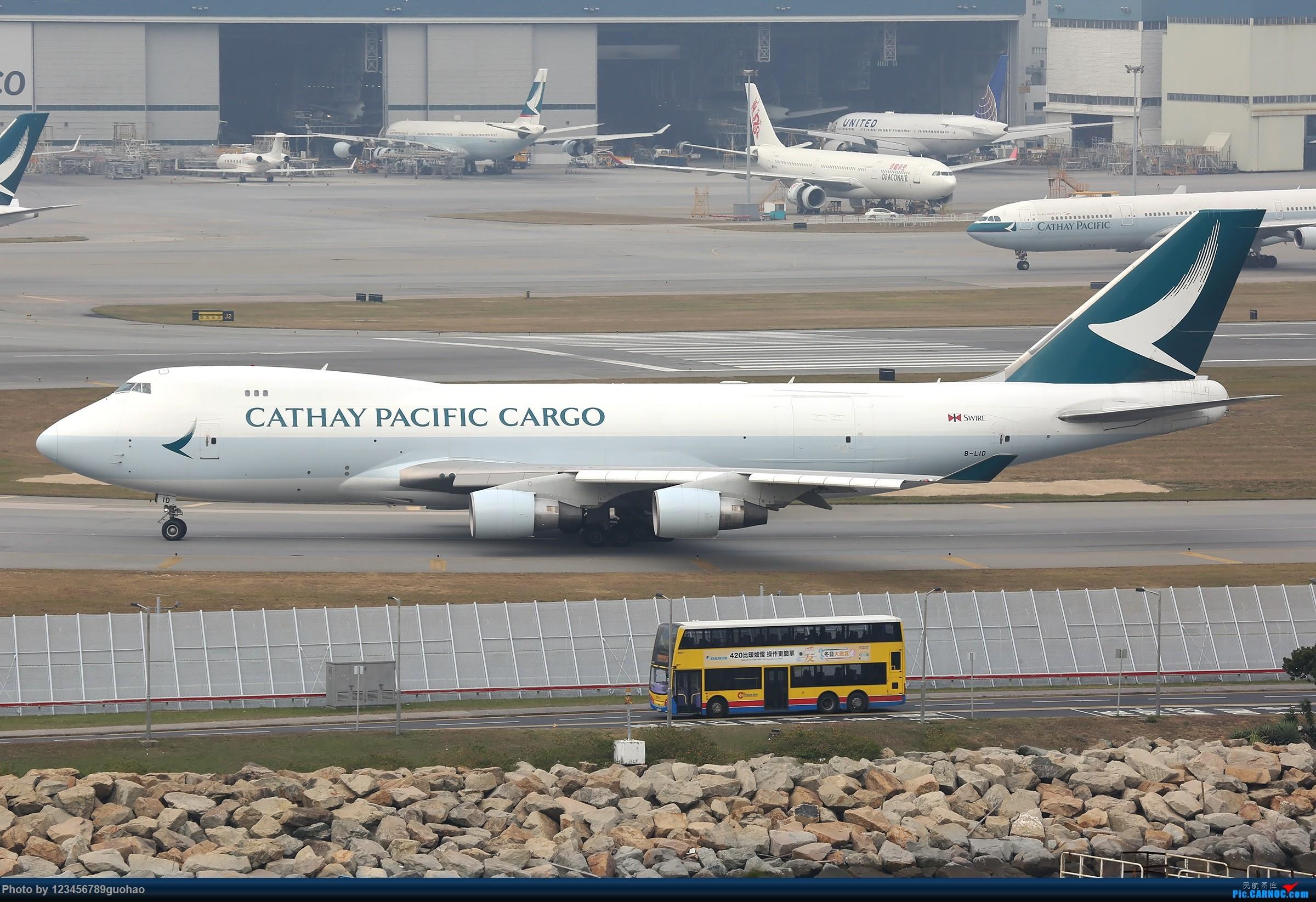 Re:[原创]香港货 BOEING 747-400F B-LID 香港赤鱲角国际机场