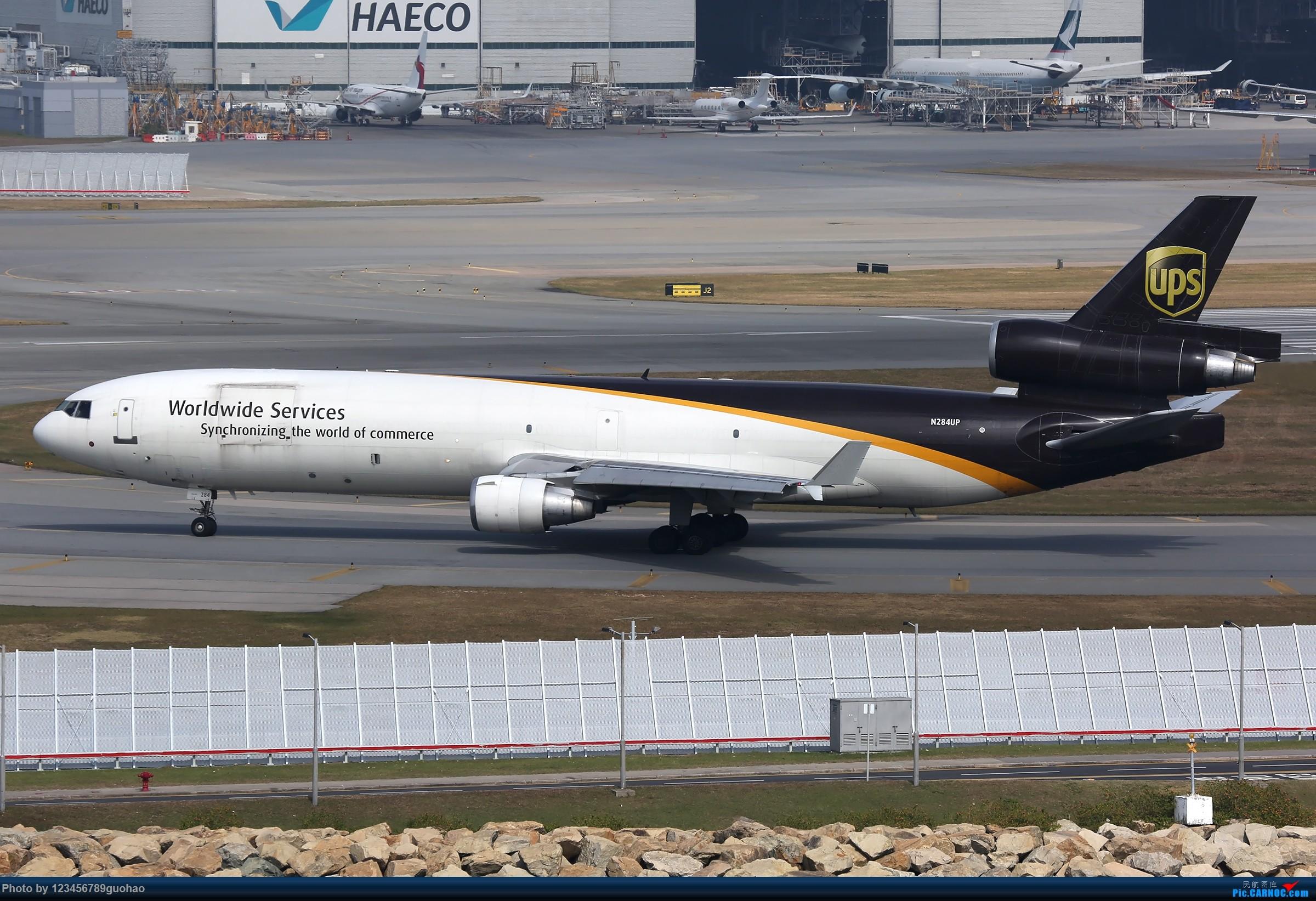 Re:[原创]香港货 MD MD-11 N284UP 香港赤鱲角国际机场