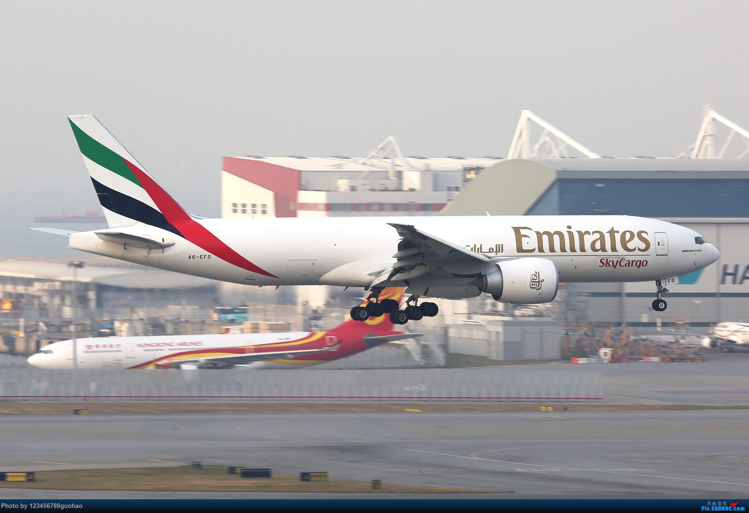 Re:[原创]香港货 BOEING 77F A6-EFO 香港赤鱲角国际机场