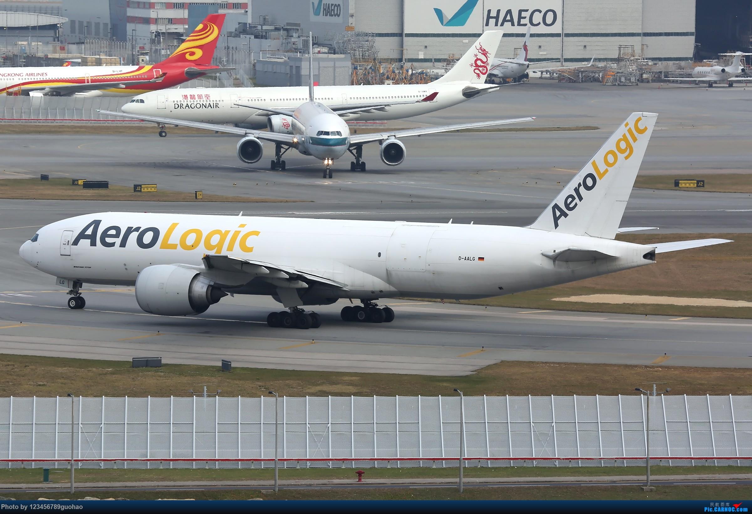 Re:[原创]香港货 BOEING 77F D-AALG 香港赤鱲角国际机场