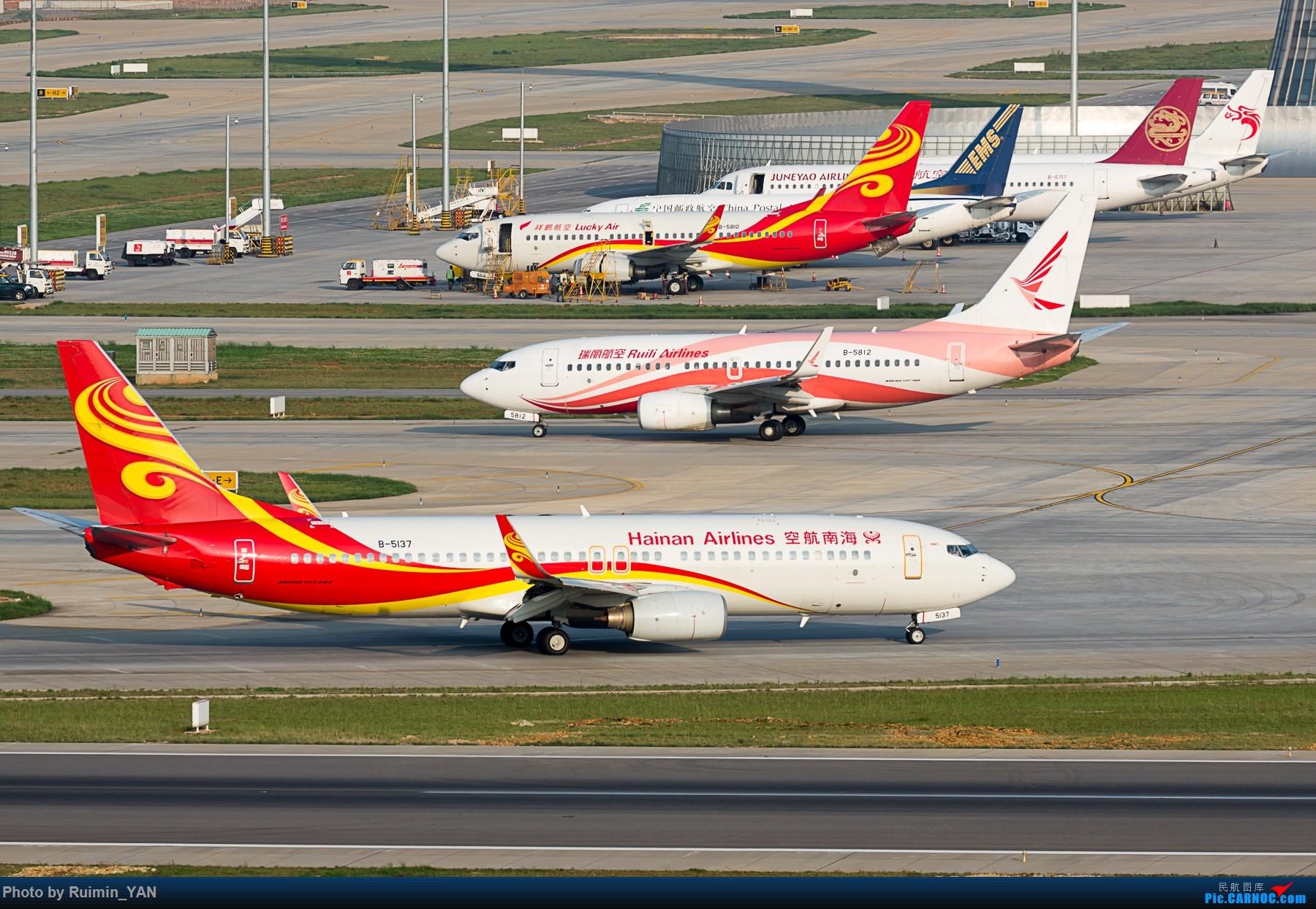 [原创]【KMG】******西跑护坡****** BOEING 737-800 B-5137 中国昆明长水国际机场