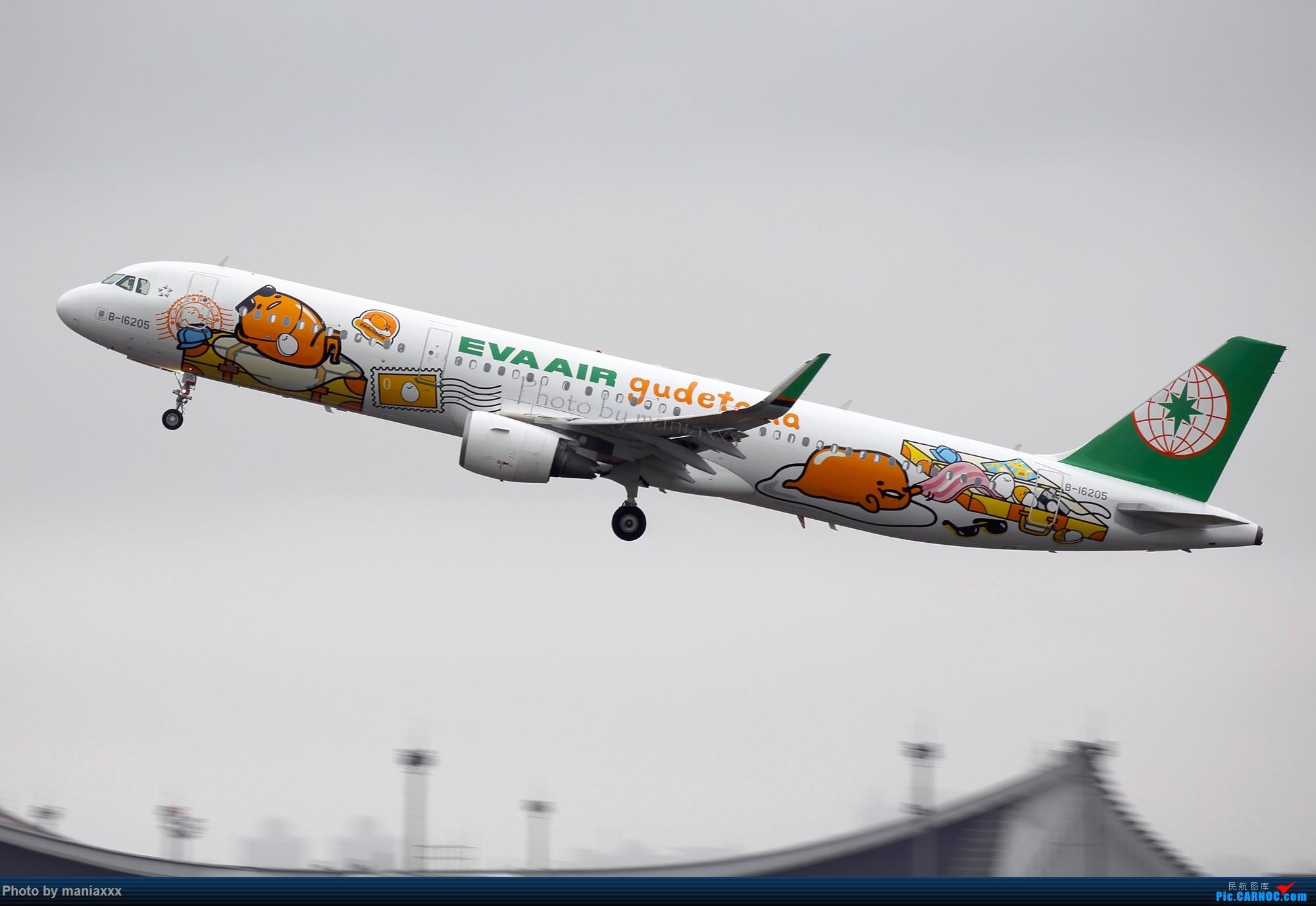 【TPE+TSA两日拍机游】之蛋黄君AB面 AIRBUS A321-200 B-16205 中国台北桃园国际机场