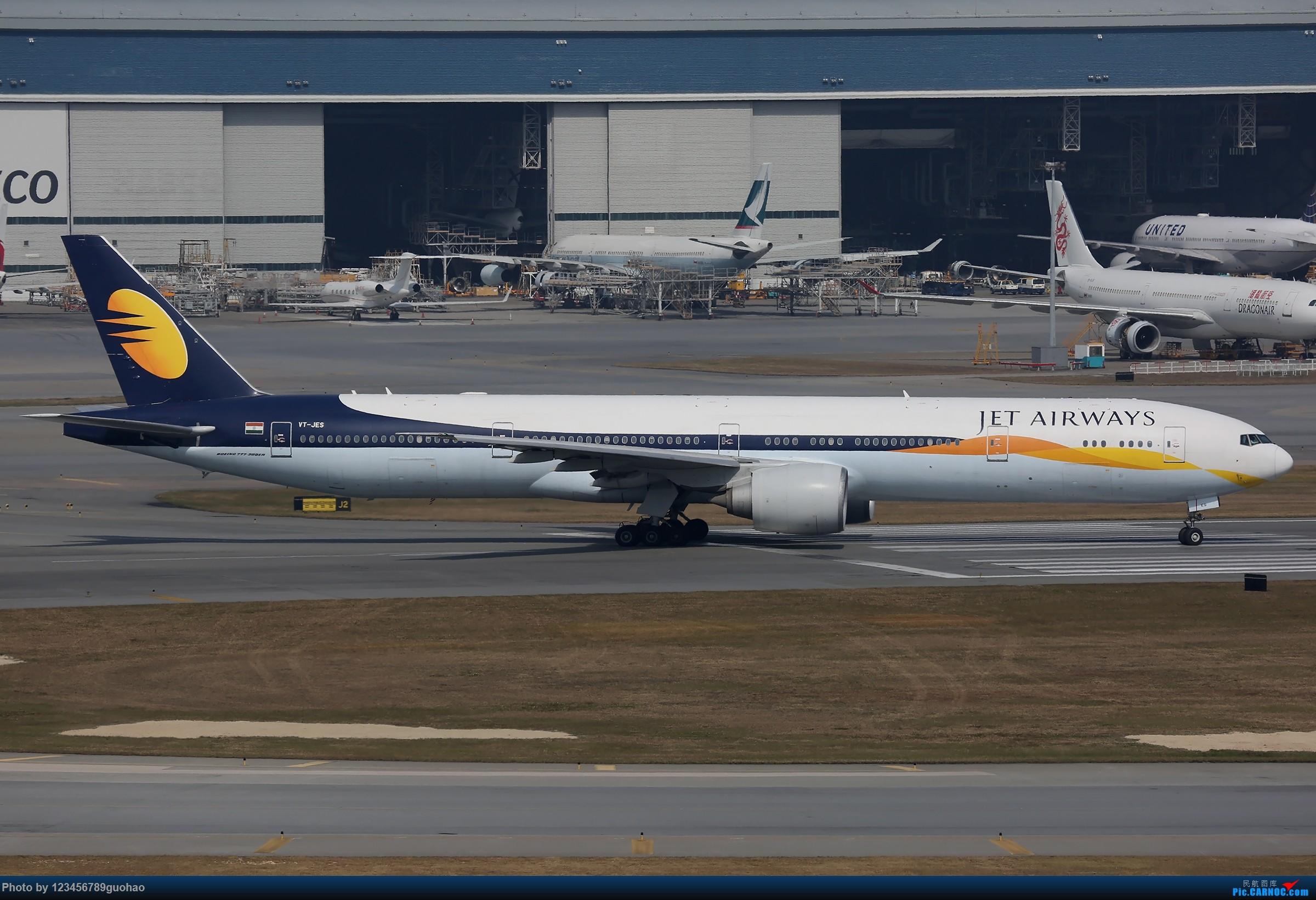 [原创]一图党-阿三与捷特 BOEING 777-300ER VT-JES 香港赤鱲角国际机场