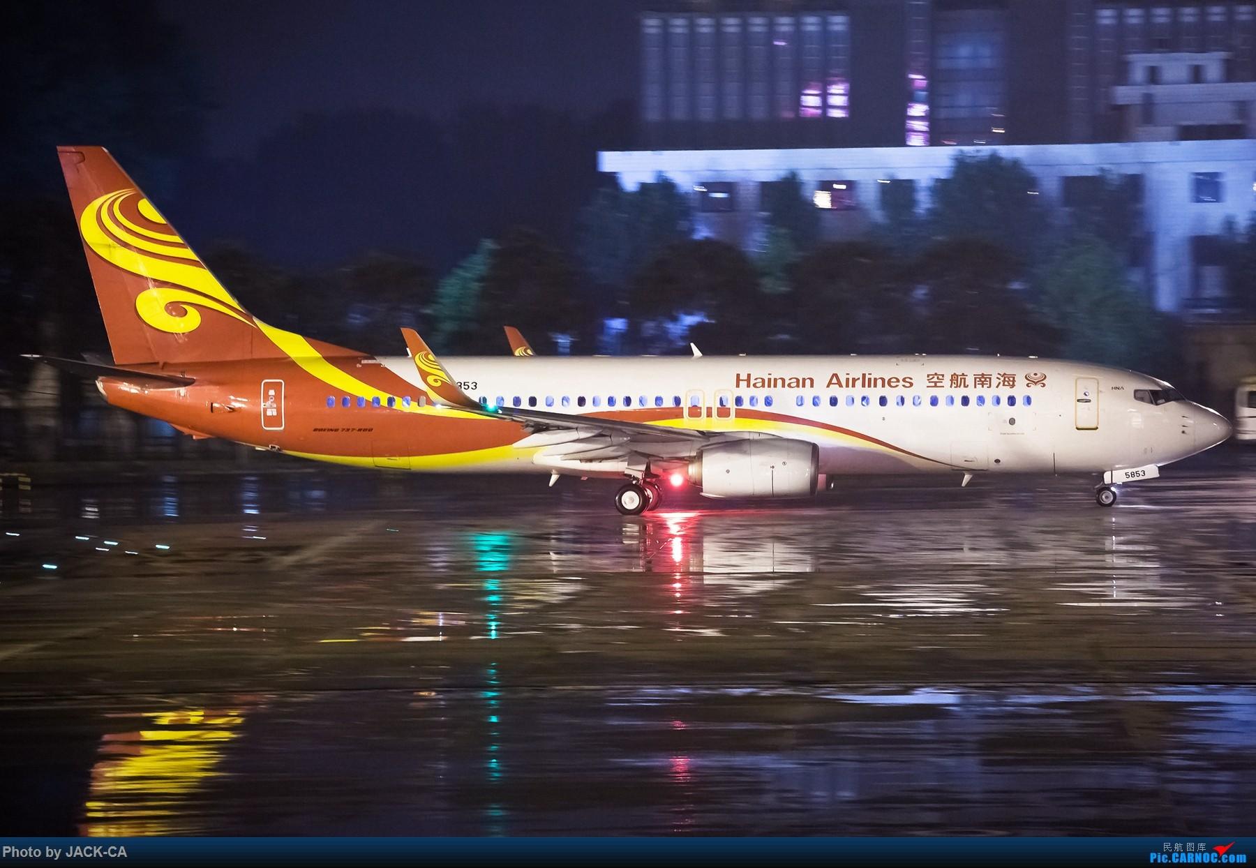 [原创]【组图】很久不来了 冒个泡 5pics 1800*1200 BOEING 737-800 B-5853 中国北京首都国际机场
