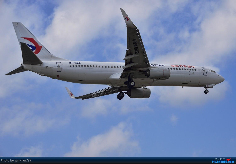 Re:[原创]难得好天上点A、B货 BOEING 737-800 B-7397