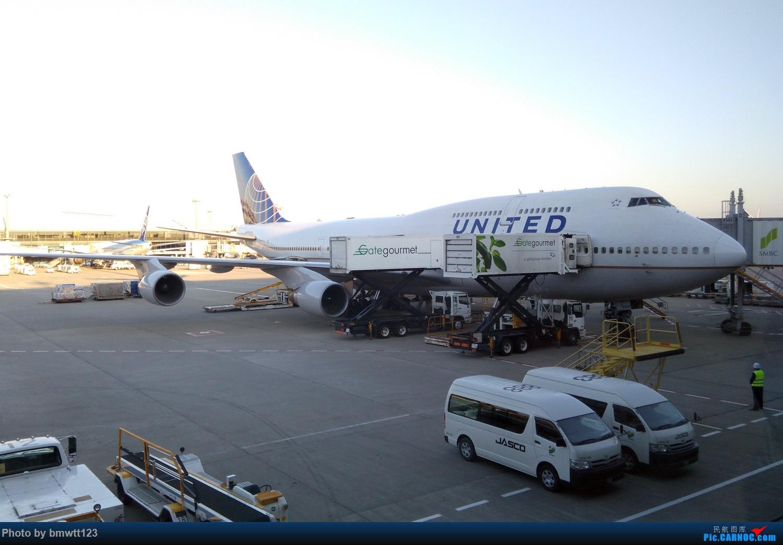 Re:[原创]【SHE沈阳-NRT成田】NH926解锁ANA767-300,遗憾!没来得及去观景台 BOEING 747-400 N104UA 日本东京成田机场