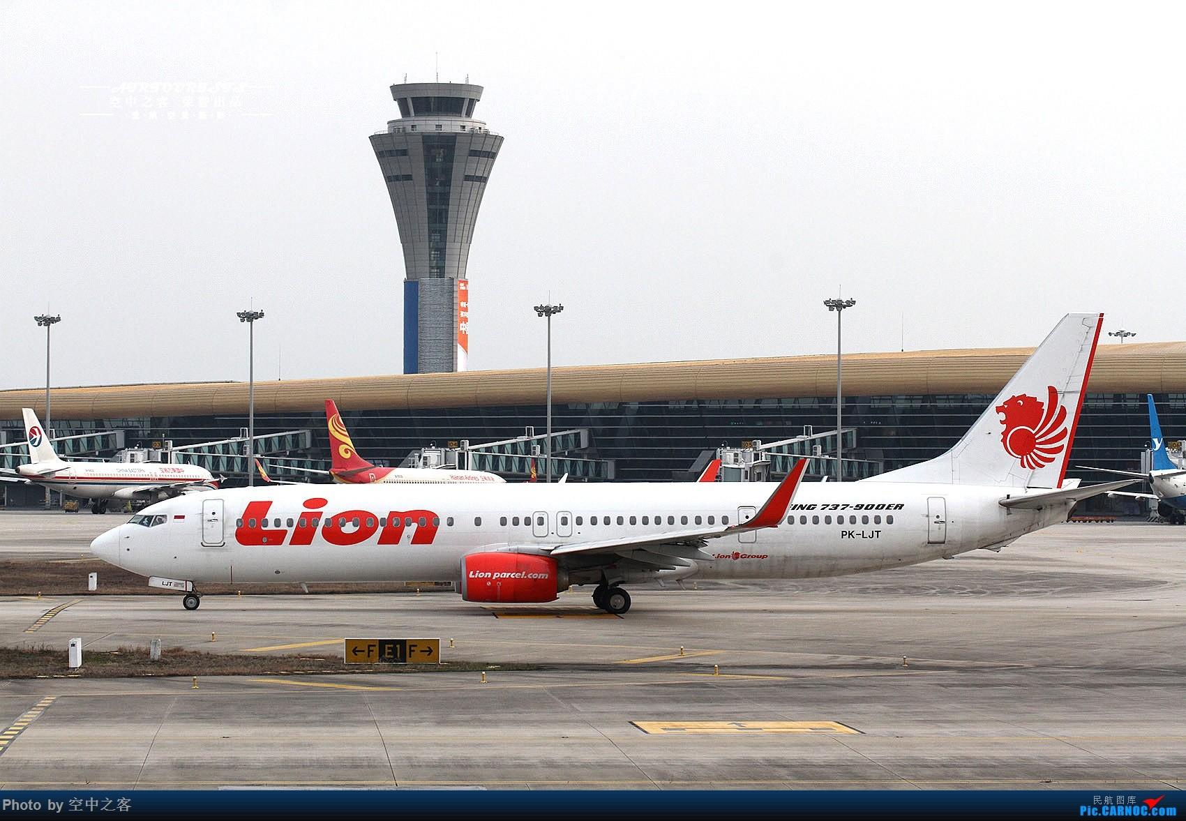 Re:[原创][合肥飞友会·霸都打机队·空中之客出品]有一只狮子有一只蒙牛...魔头大佬亲临新机场 BOEING 737-900ER PK-LJT 合肥新桥国际机场