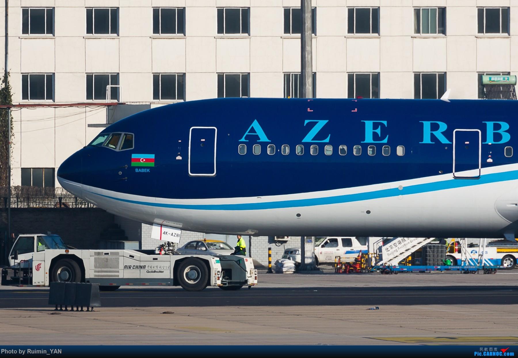 Re:[原创]【PEK】阿塞拜疆(J2, Azerbaijan Airlines)Boeing 763ER 4K-AZ81 BOEING 767-300ER 4K-AZ81 中国北京首都国际机场