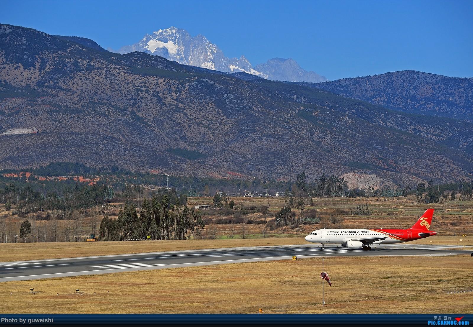 Re:[原创]【七彩天空】——雪山下的飞机,丽江三义半日拍    中国丽江三义机场