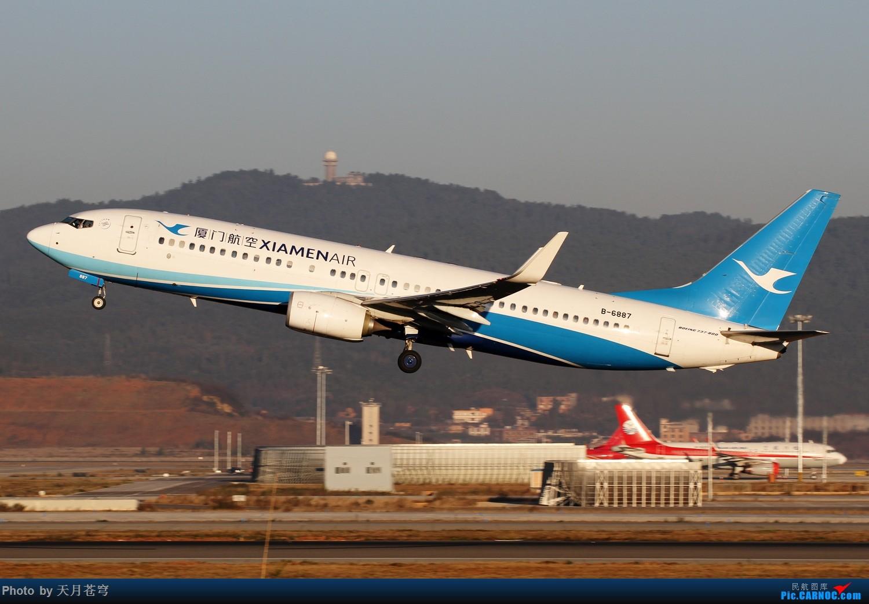Re:[原创]【KMG】2017年第一拍,长水早晨的阳光不错 BOEING 737-800 B-6887 中国昆明长水国际机场